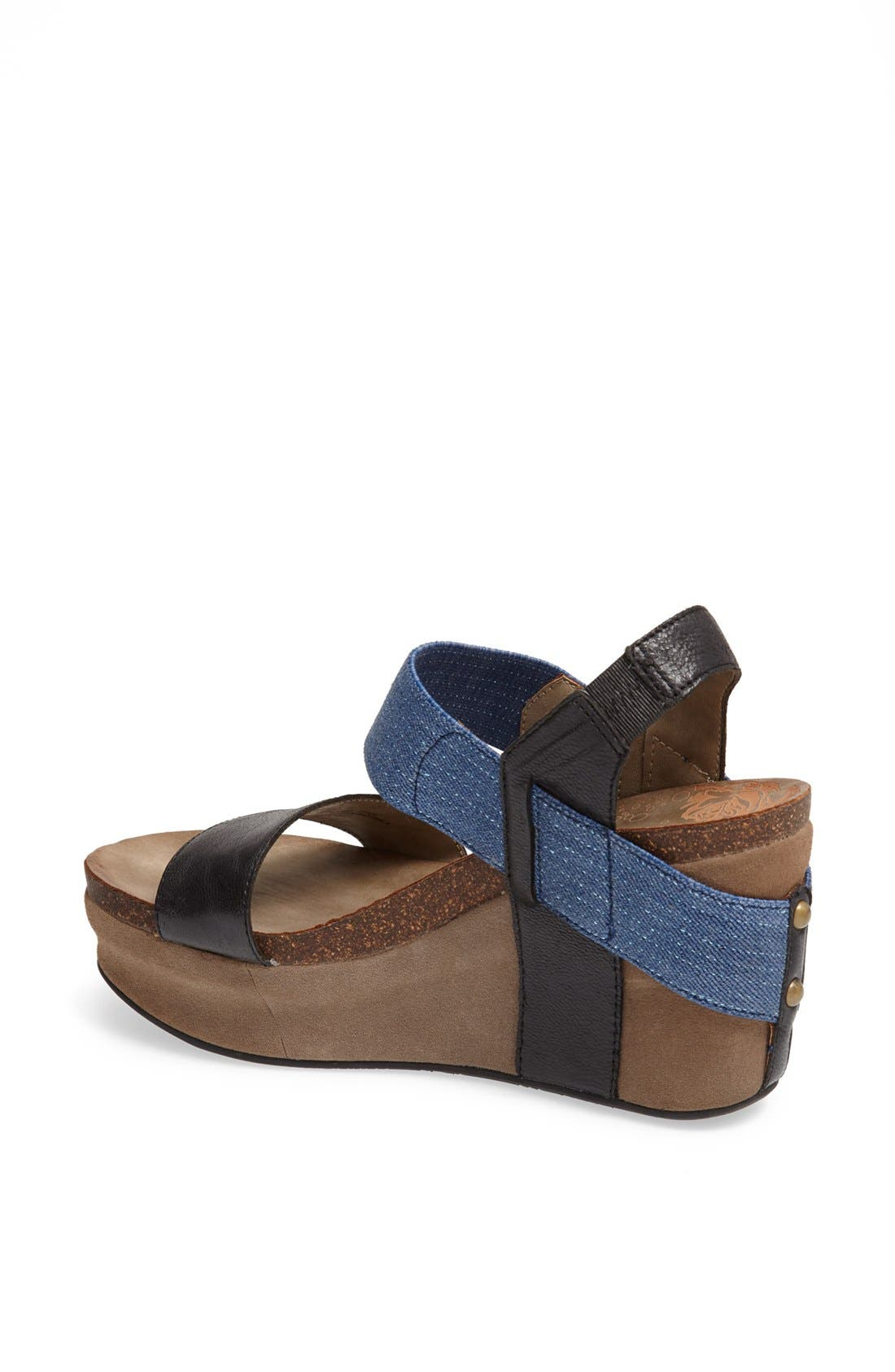 'Bushnell' Wedge Sandal,                             Alternate thumbnail 50, color,