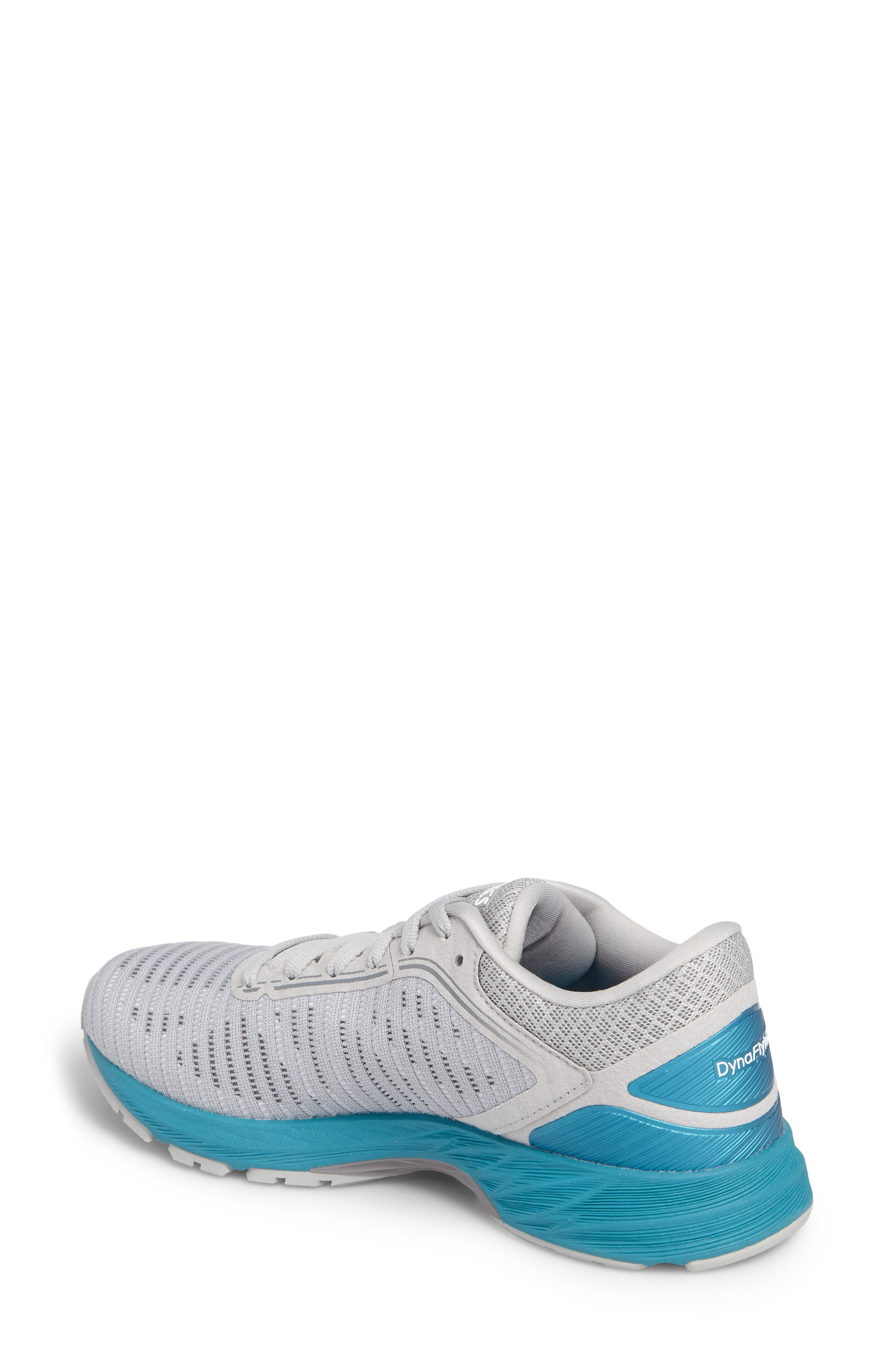 DynaFlyte 2 Running Shoe,                             Alternate thumbnail 2, color,                             MID GREY/ AQUA/ GLACIER