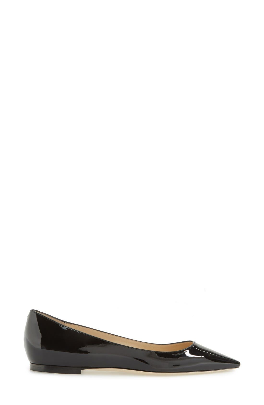 'Romy' Pointy Toe Flat,                             Alternate thumbnail 25, color,