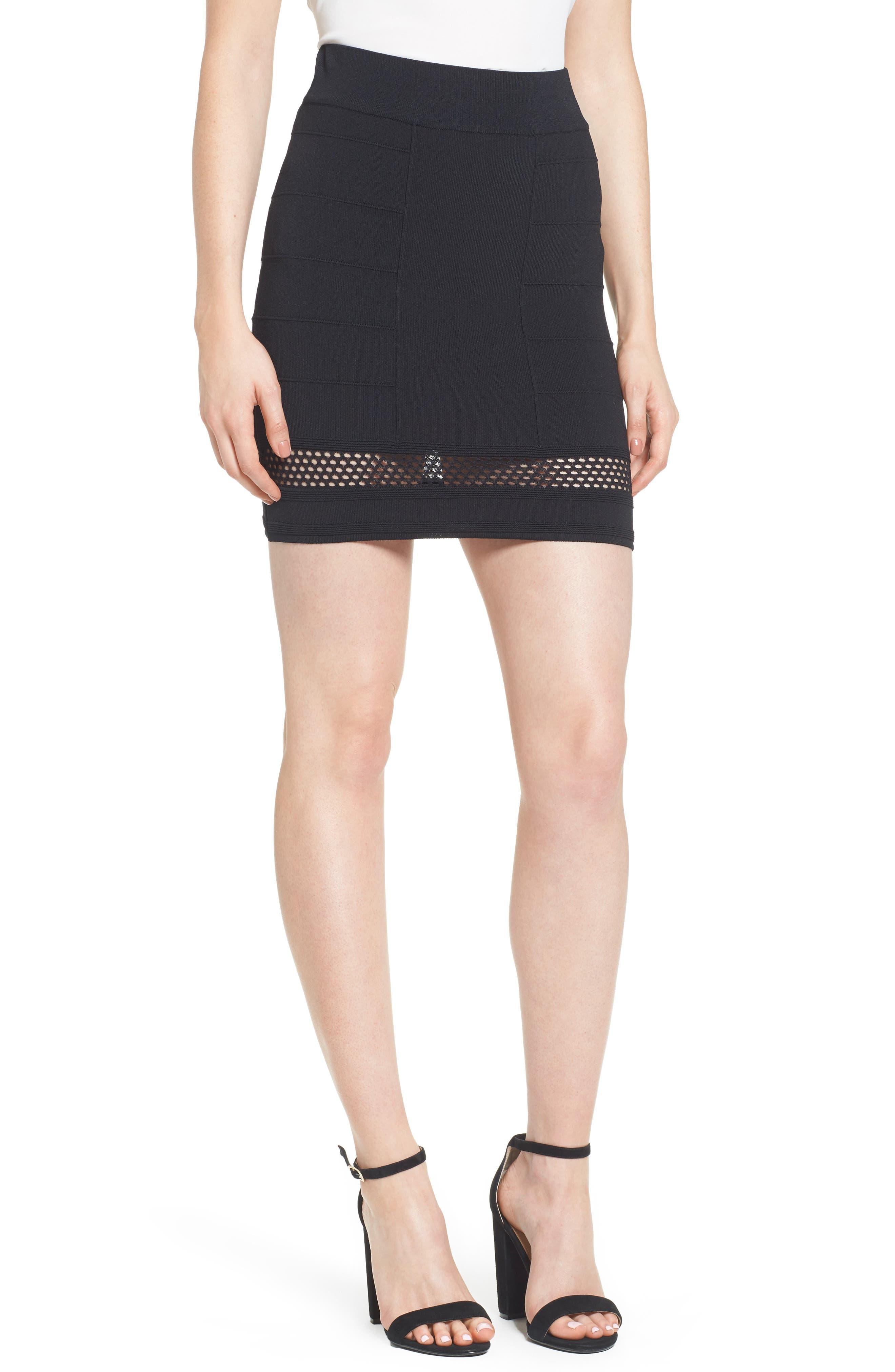 Bishop + Young Siena Peekaboo Skirt,                             Main thumbnail 1, color,