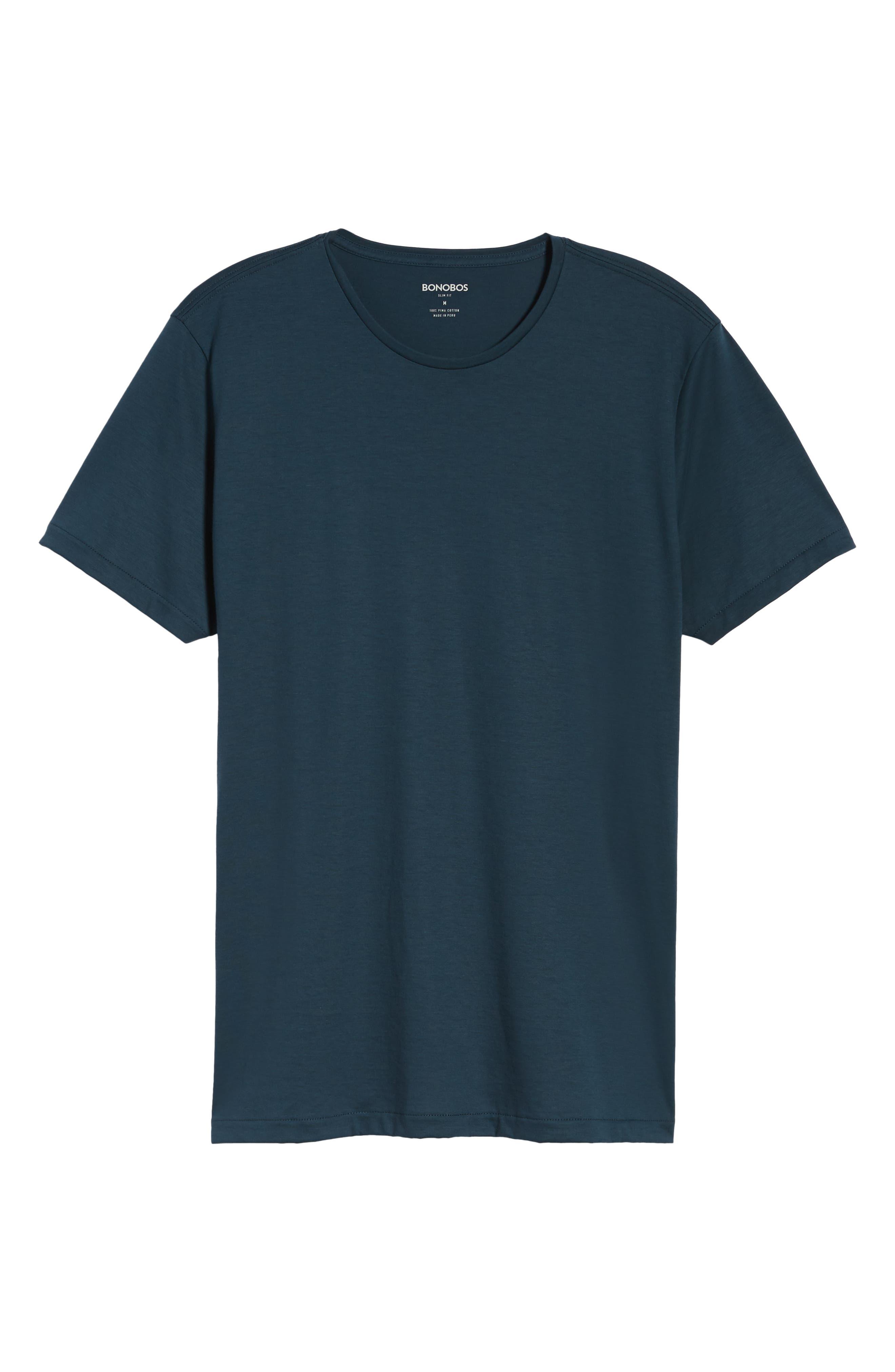 Refined Slim Fit T-Shirt,                             Alternate thumbnail 6, color,