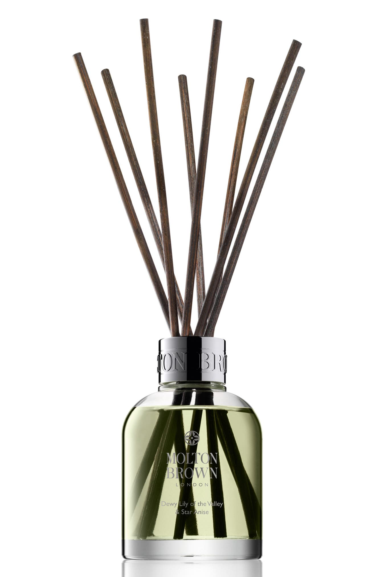 'Dewy Lily of the Valley & Star Anise' Aroma Reeds,                         Main,                         color, 100