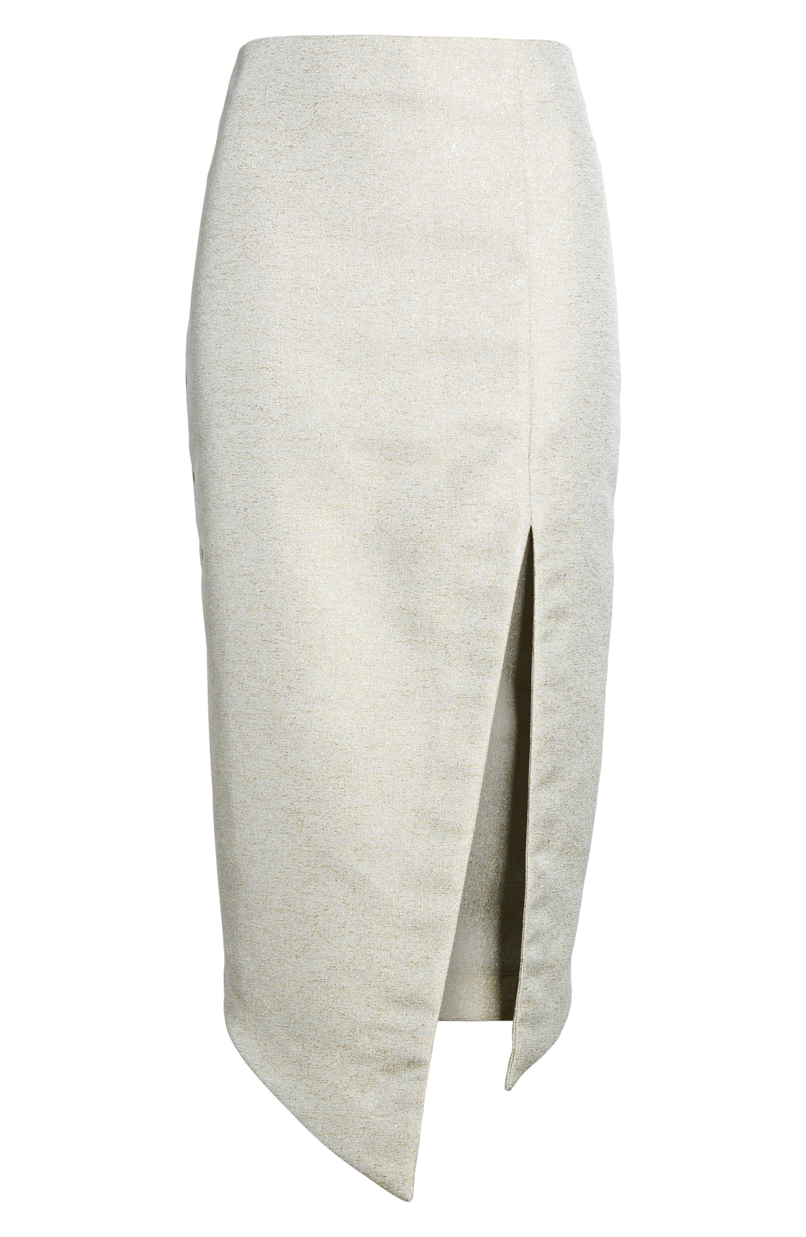 Valencia Midi Skirt,                             Alternate thumbnail 6, color,                             376