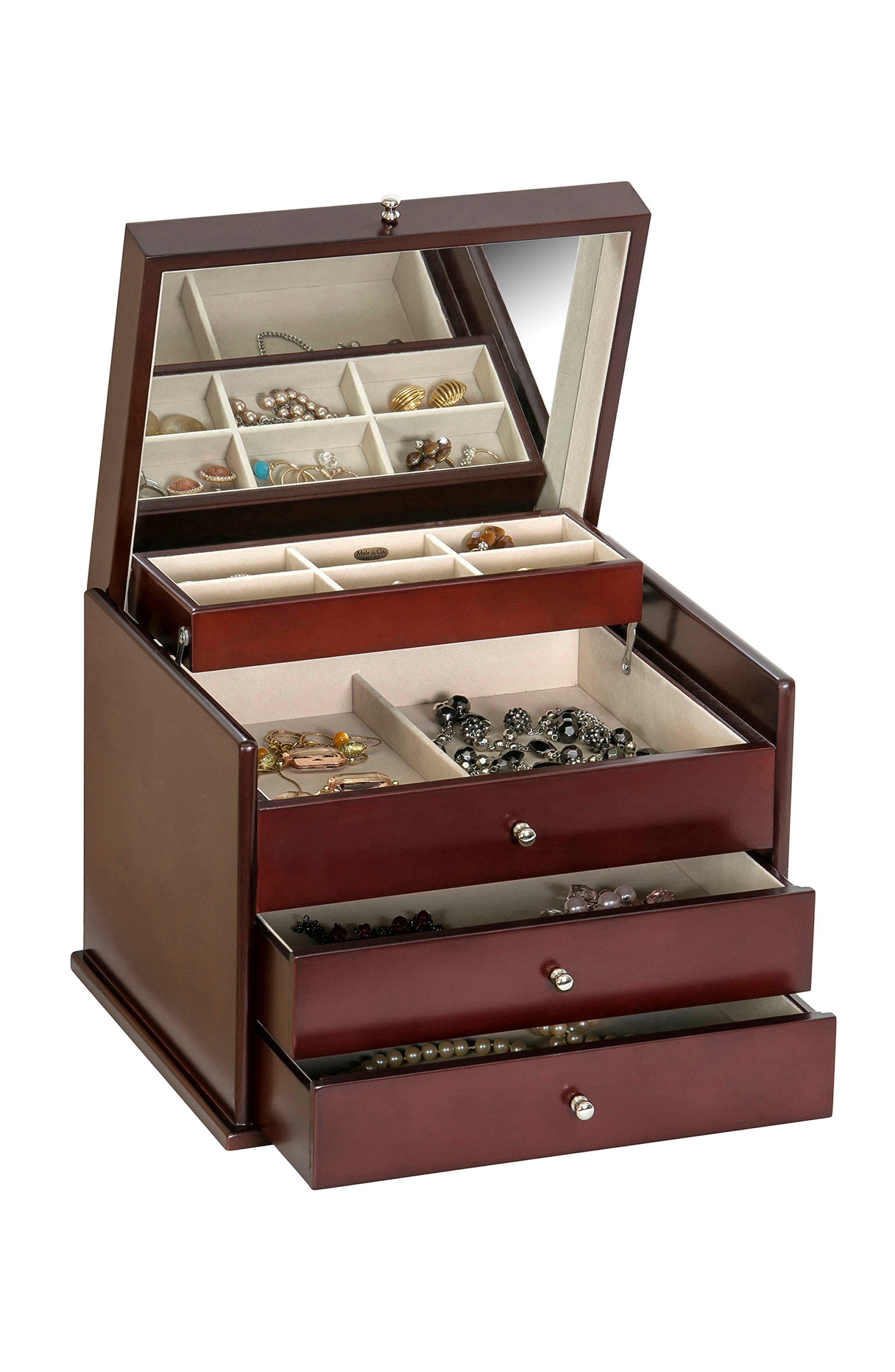 Newbury Jewelry Box,                             Alternate thumbnail 2, color,                             200