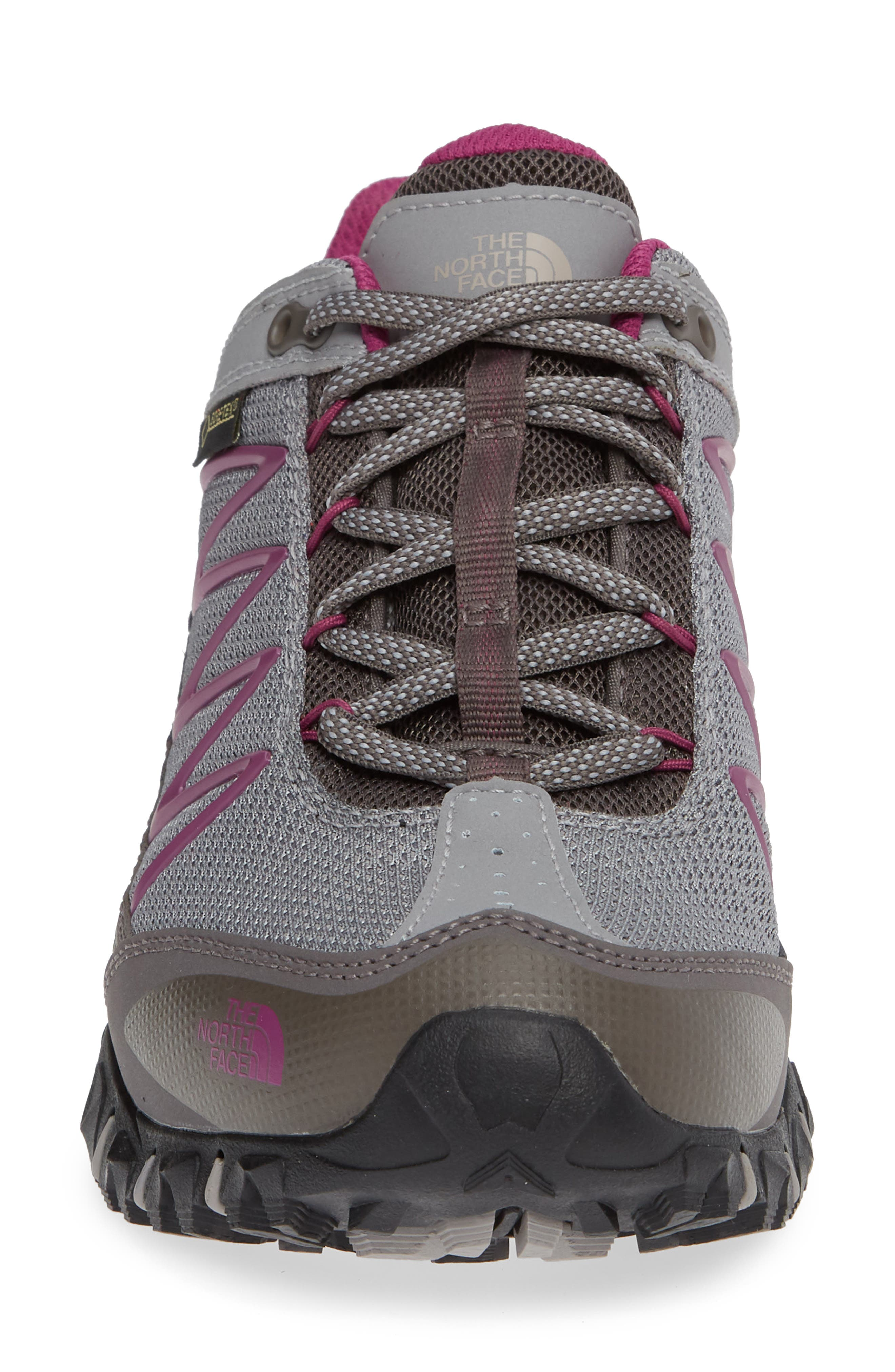 Ultra 110 GTX<sup>®</sup> Hiking Shoe,                             Alternate thumbnail 4, color,                             Q-SILVER GREY/ ASTER PURPLE
