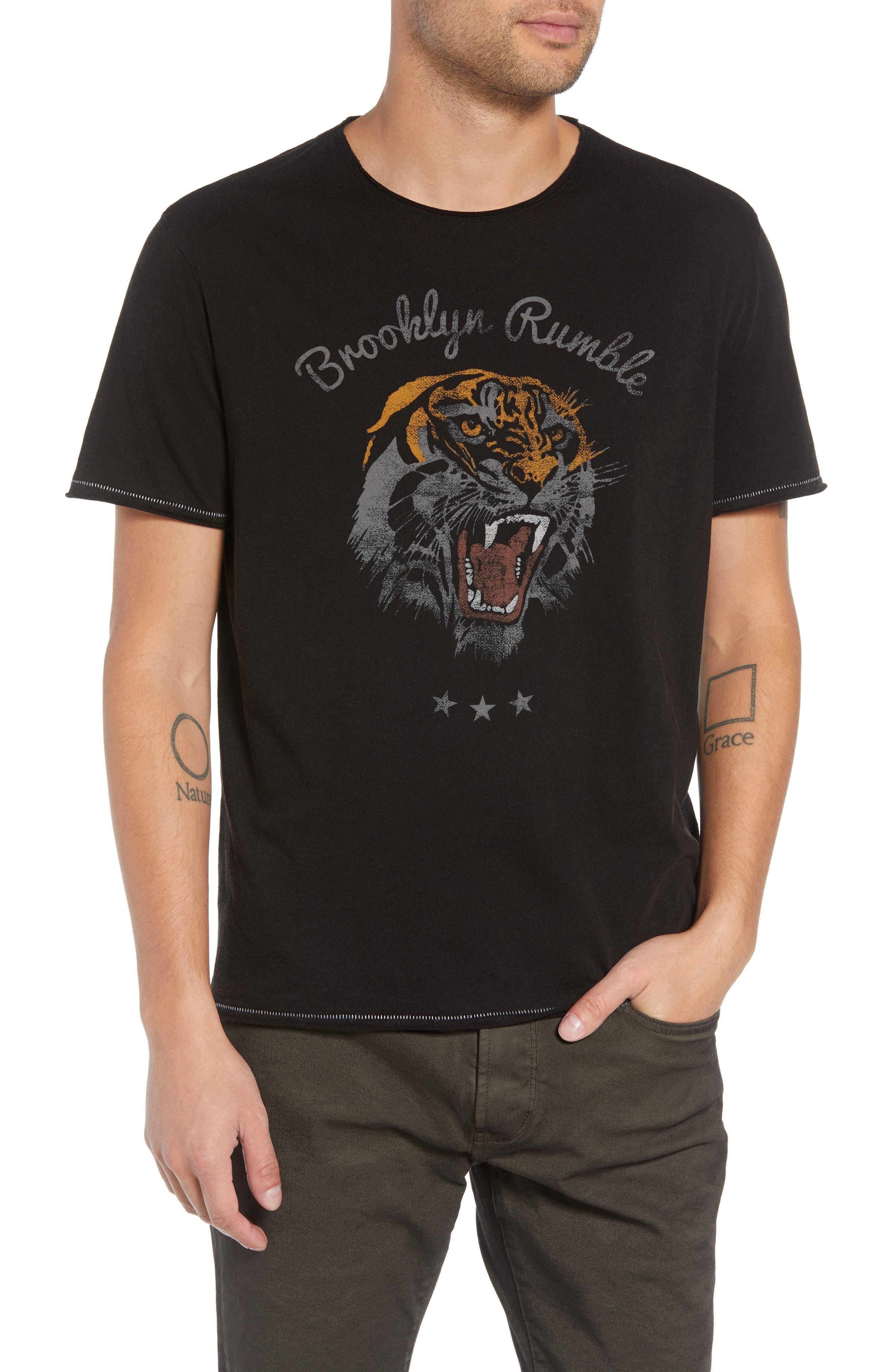 Brooklyn Rumble Graphic T-Shirt,                         Main,                         color, 001