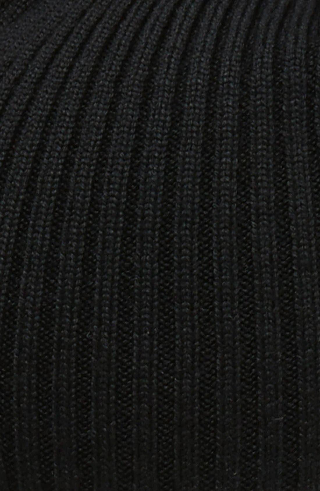 Rib Knit Wool Beanie,                             Alternate thumbnail 14, color,