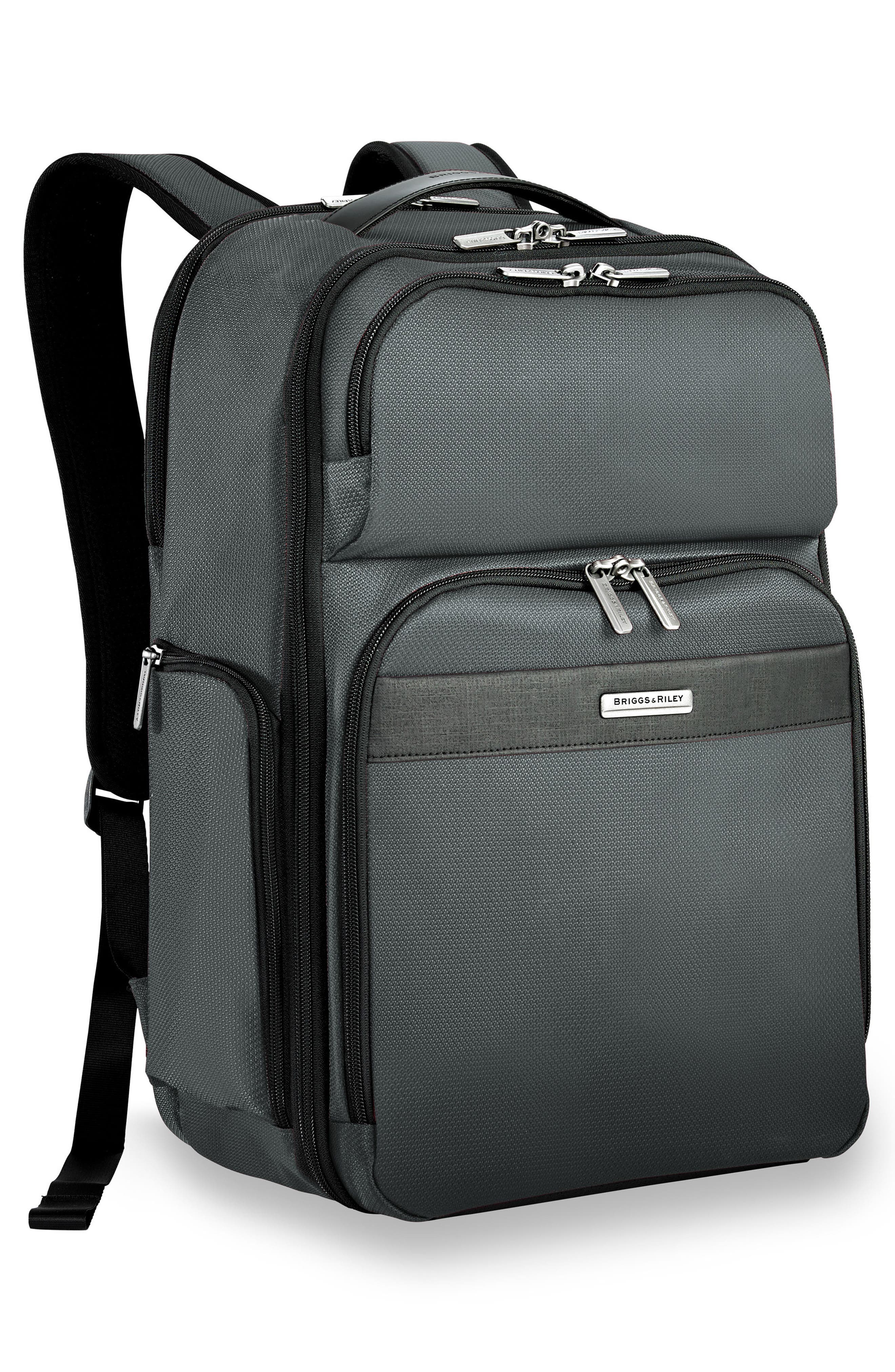 Transcend 400 Cargo Backpack,                             Alternate thumbnail 4, color,                             SLATE GREY