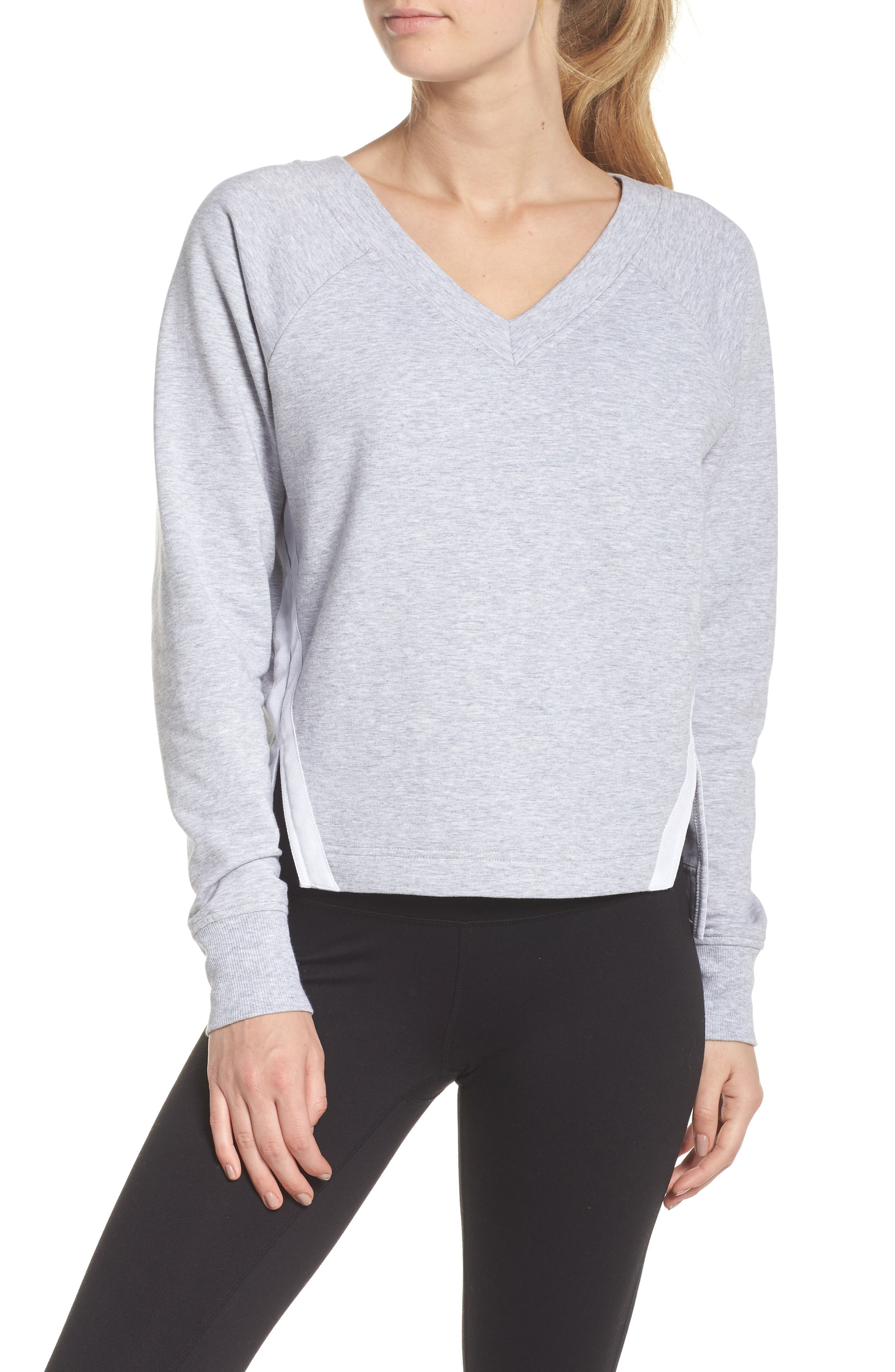 Liv Pullover,                             Main thumbnail 1, color,                             GREY QUIET HEATHER