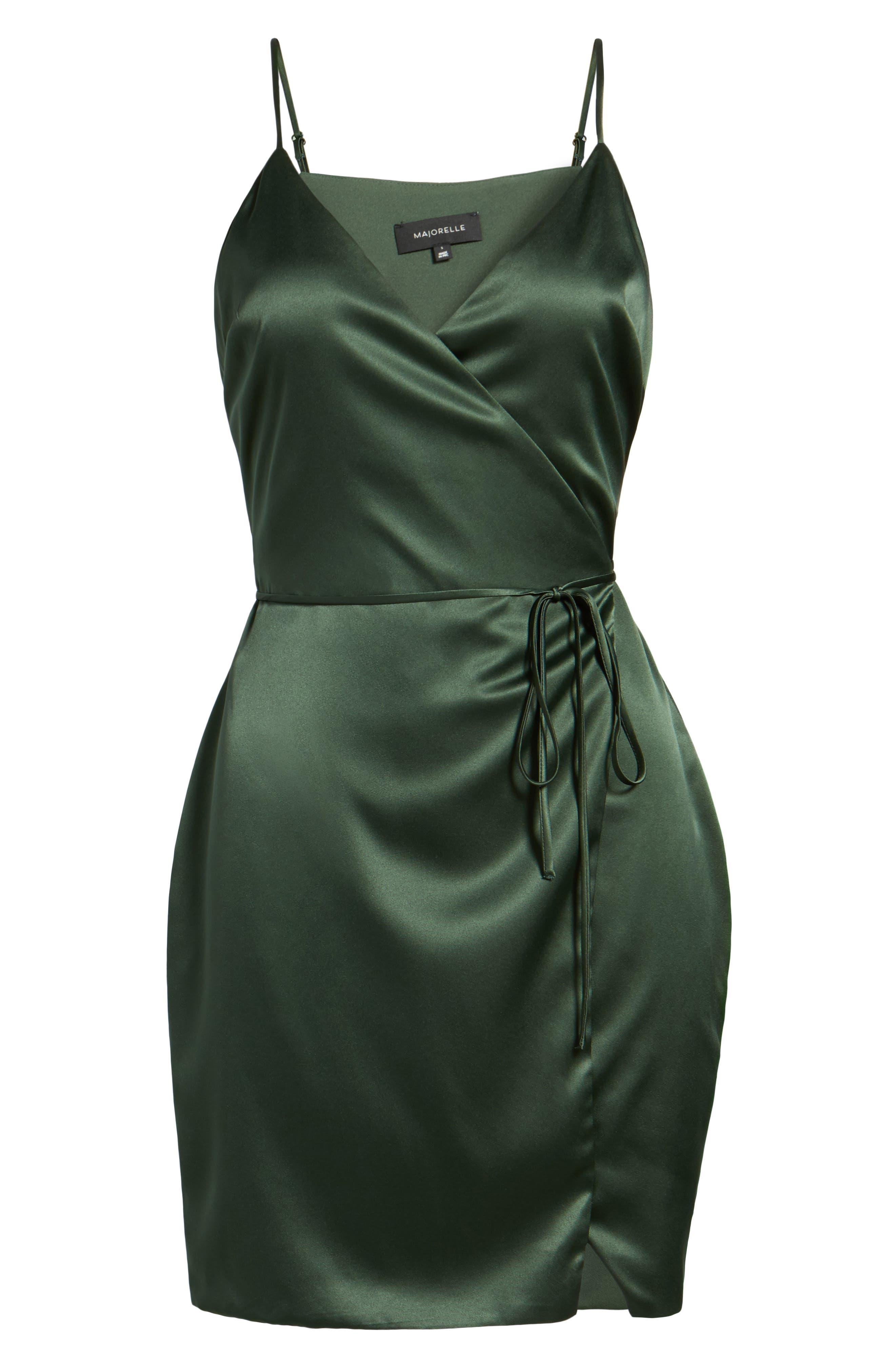 Nina Wrap Minidress,                             Alternate thumbnail 6, color,                             300
