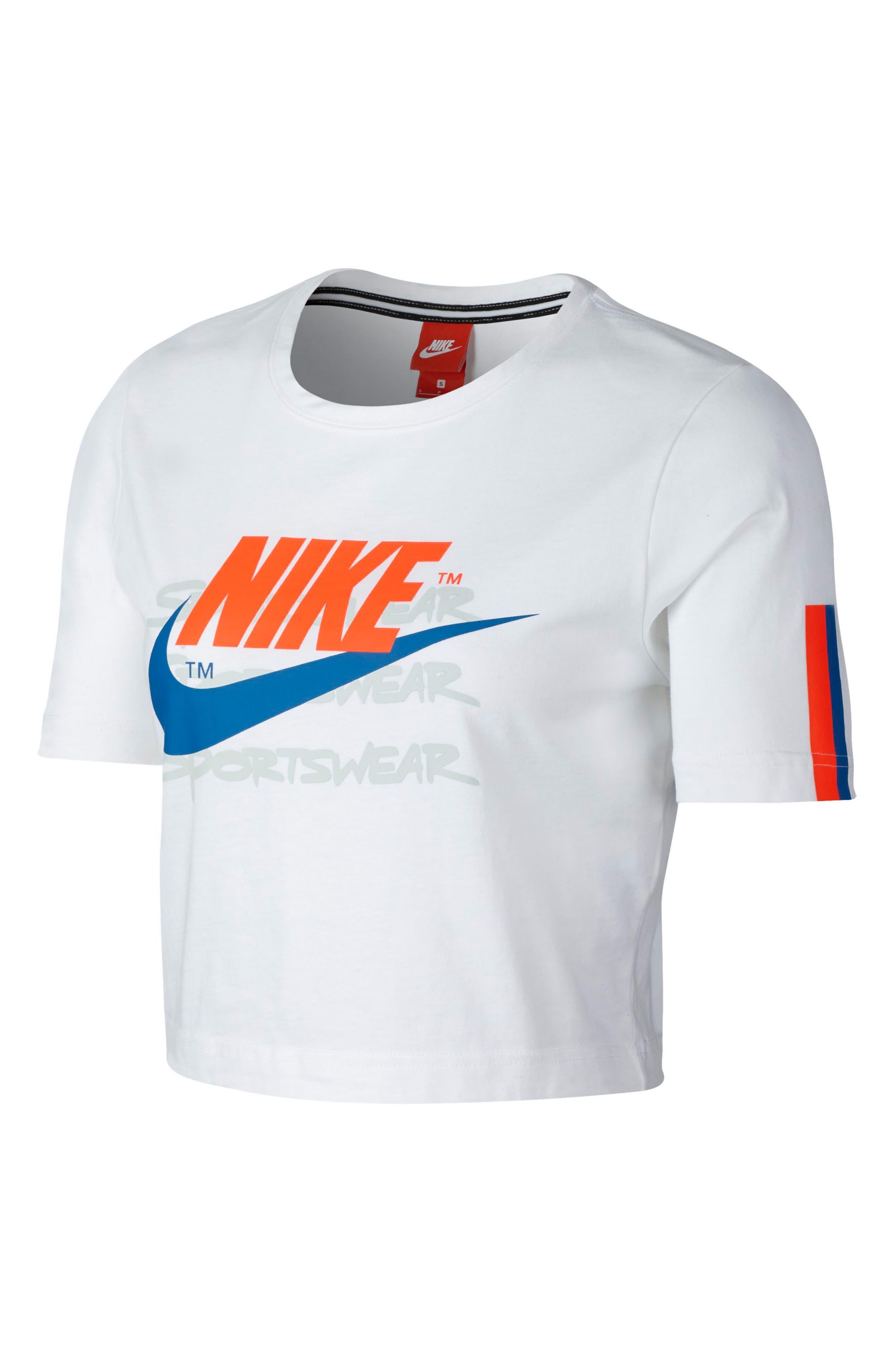 Sportswear Women's Moto Crop Top,                         Main,                         color,