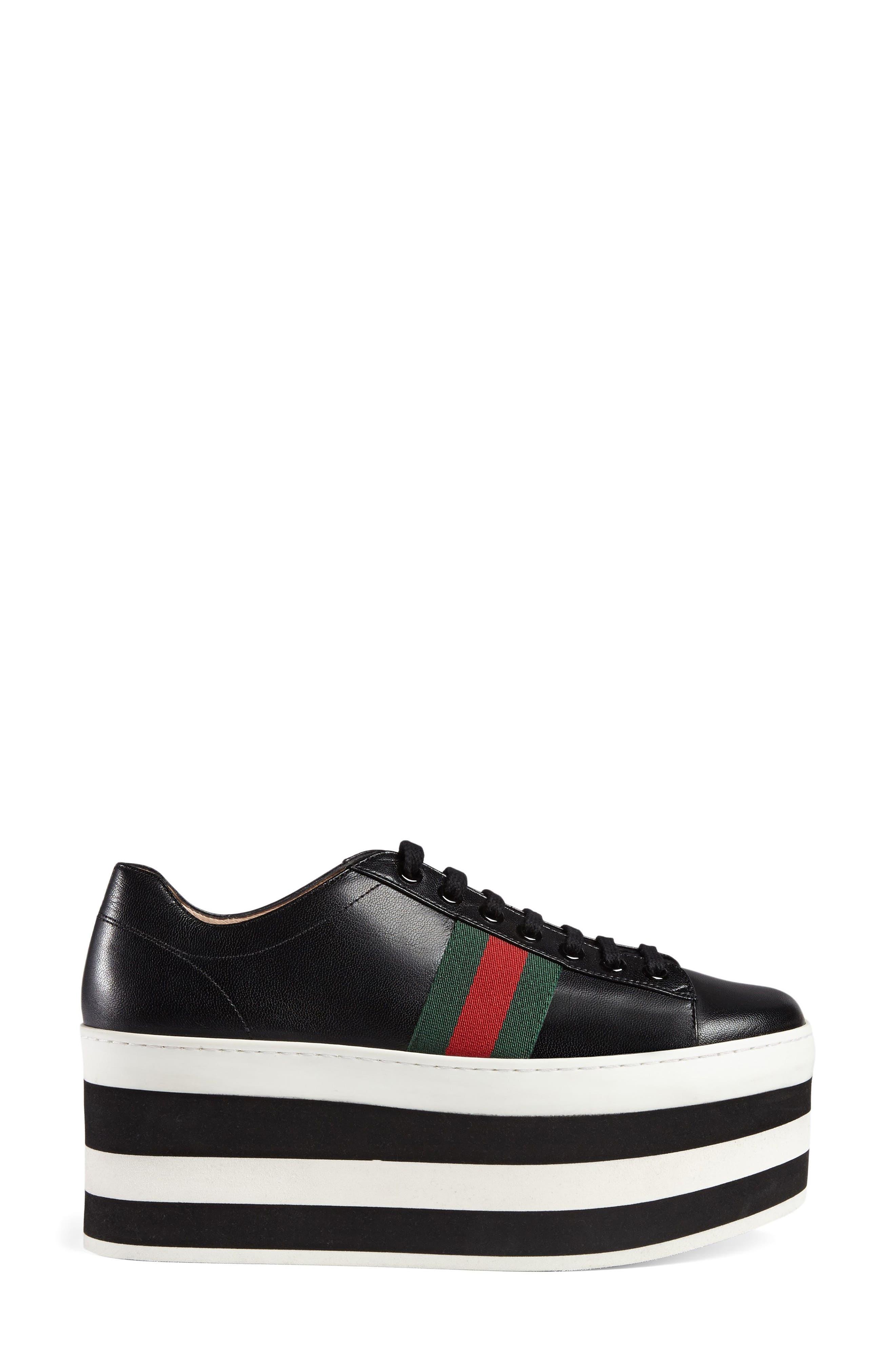 Peggy Flatform Sneaker,                             Main thumbnail 1, color,                             001