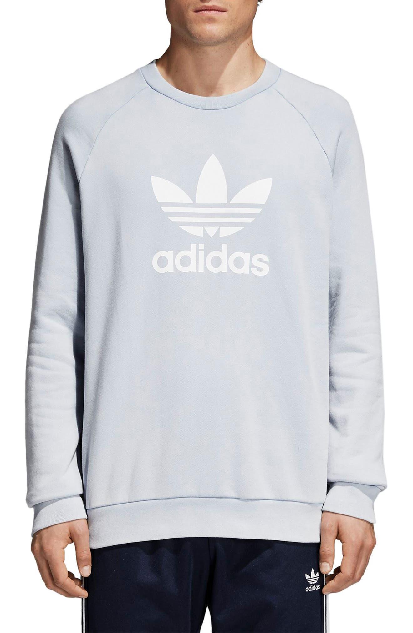 Trefoil Sweatshirt,                             Main thumbnail 1, color,                             459