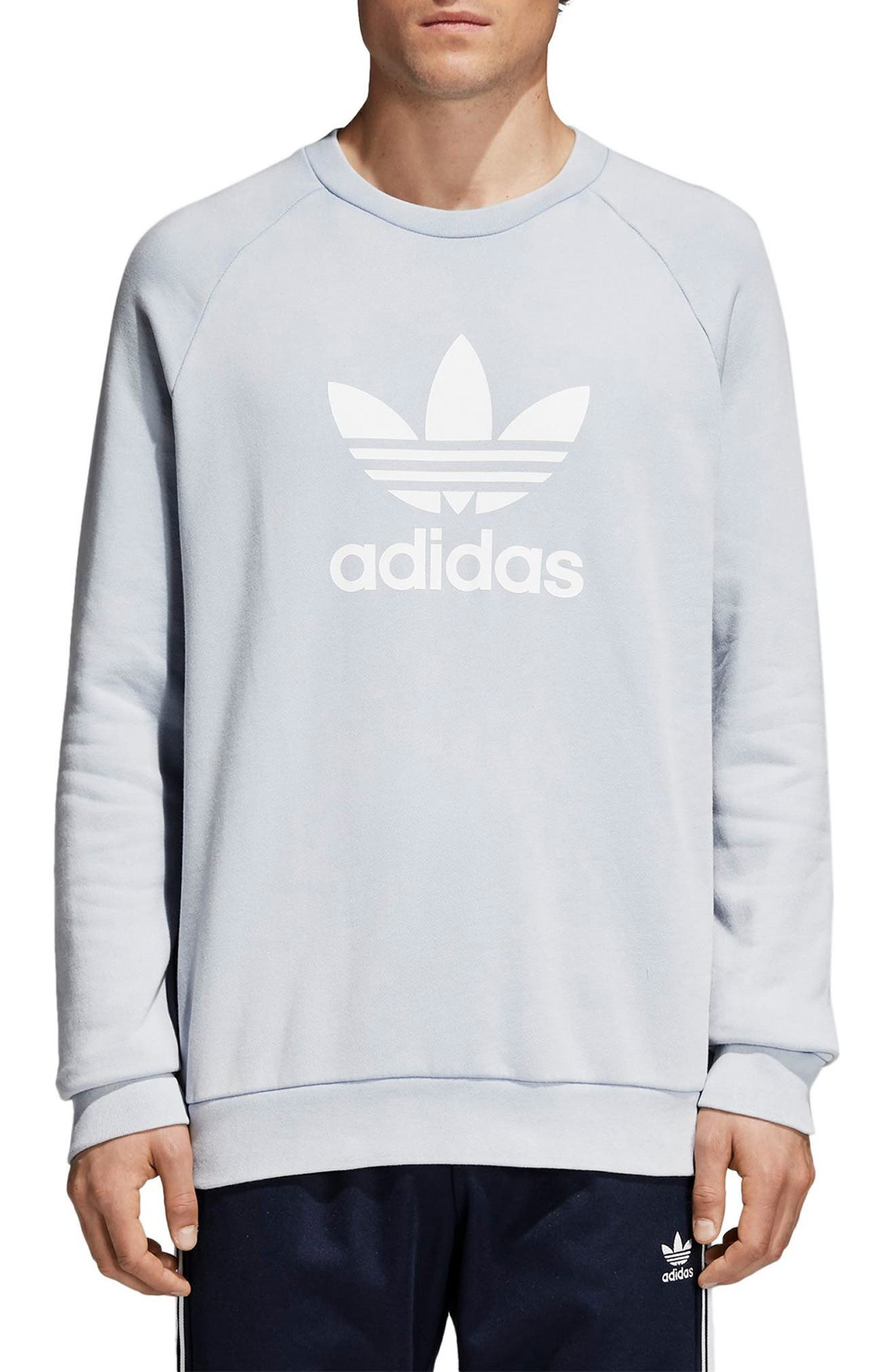 Trefoil Sweatshirt,                         Main,                         color, 459
