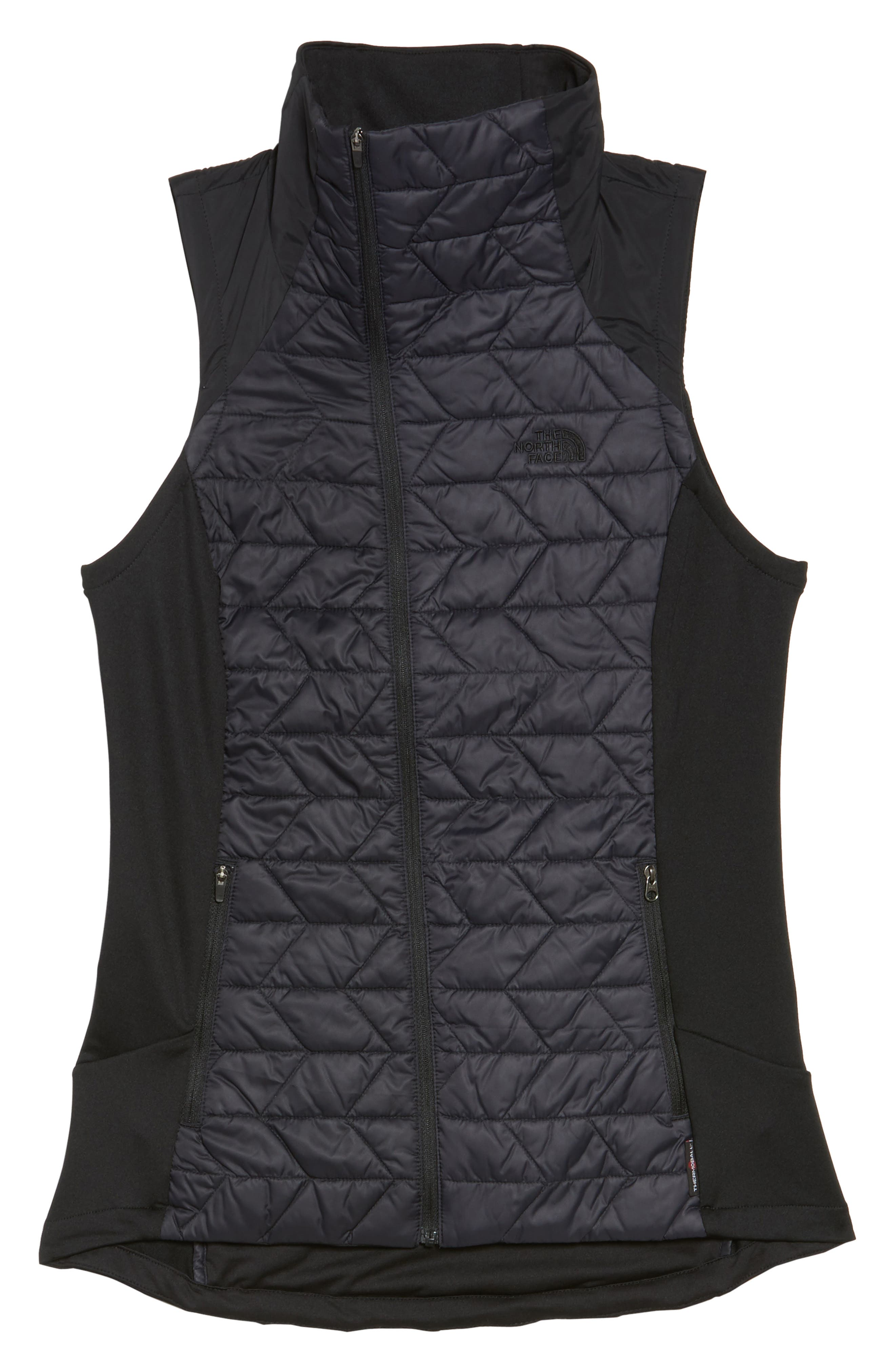 ThermoBall<sup>™</sup> Slim Fit Vest,                             Alternate thumbnail 6, color,                             001