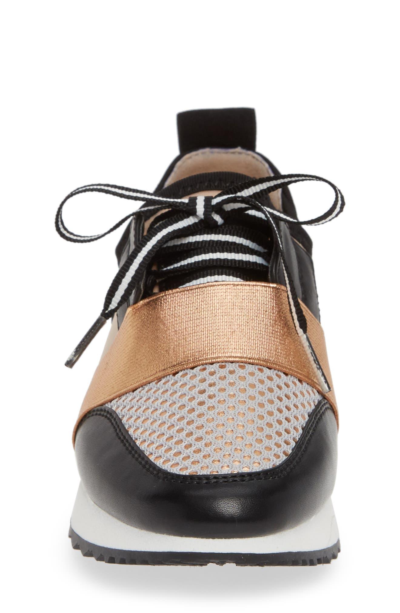 JAntics Sneaker,                             Alternate thumbnail 4, color,                             ROSE GOLD