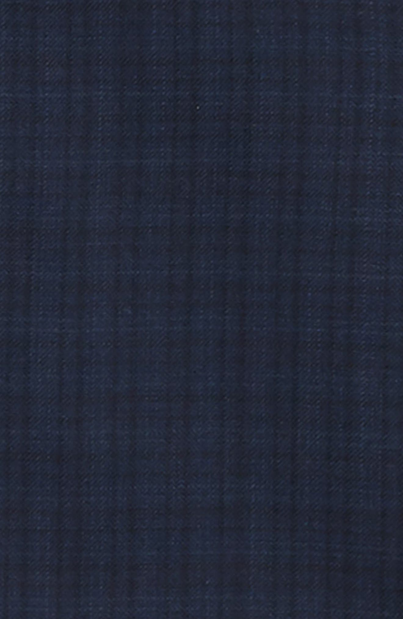 Plaid Wool Suit,                             Alternate thumbnail 2, color,                             BLUE