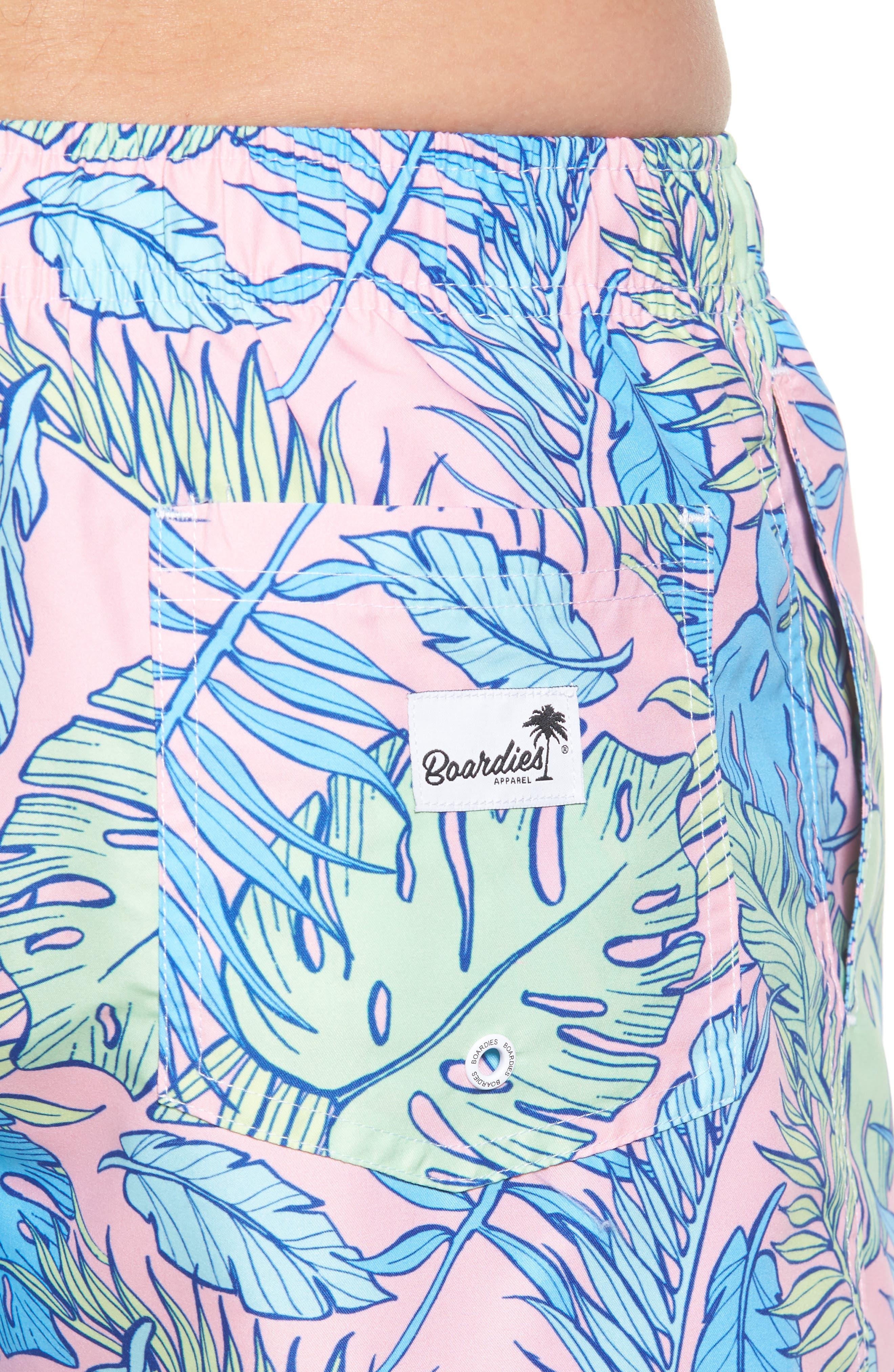 Palmtopia Swim Shorts,                             Alternate thumbnail 4, color,                             MULTI