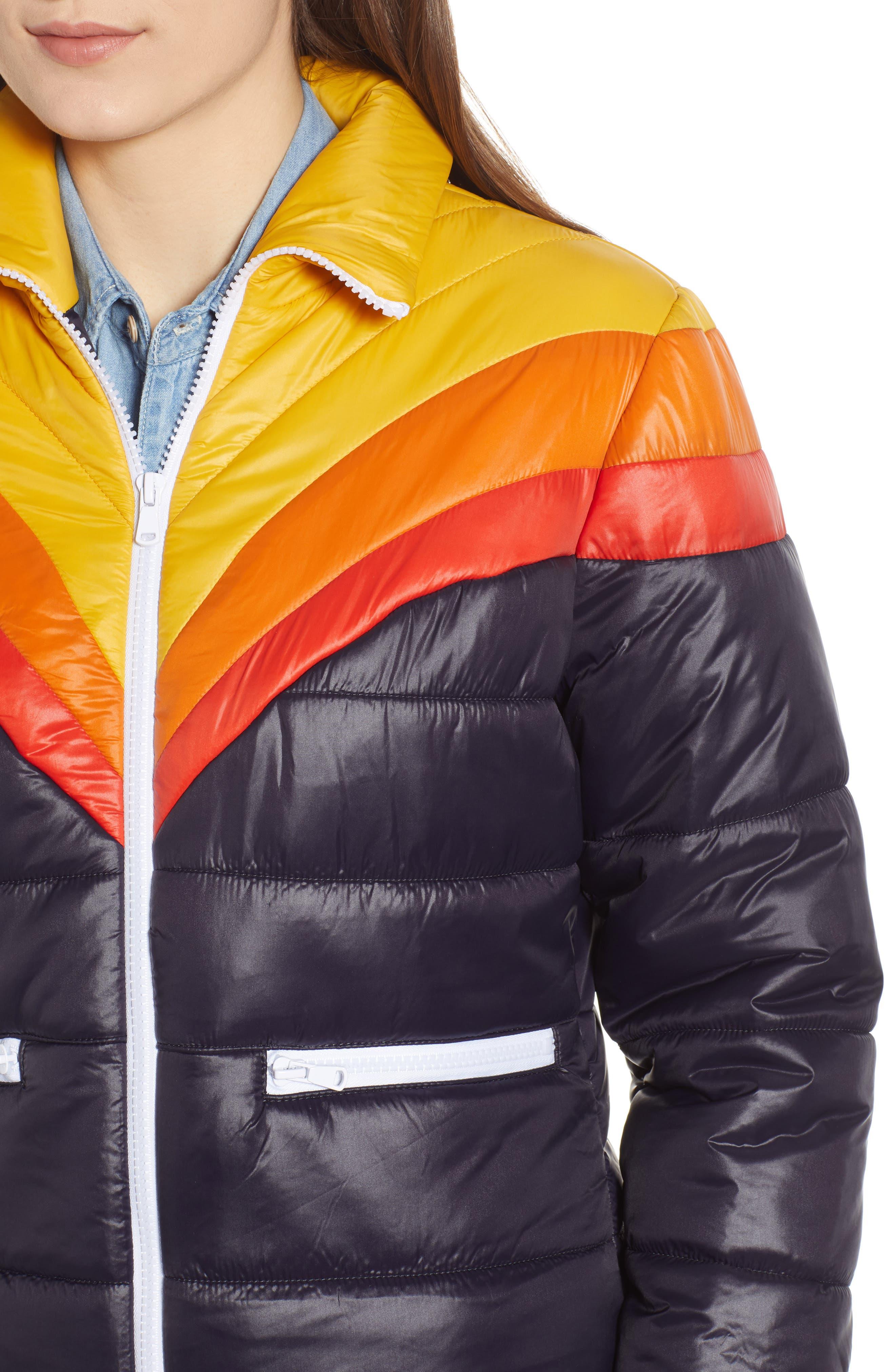 Early Riser Puffer Coat,                             Alternate thumbnail 4, color,                             460