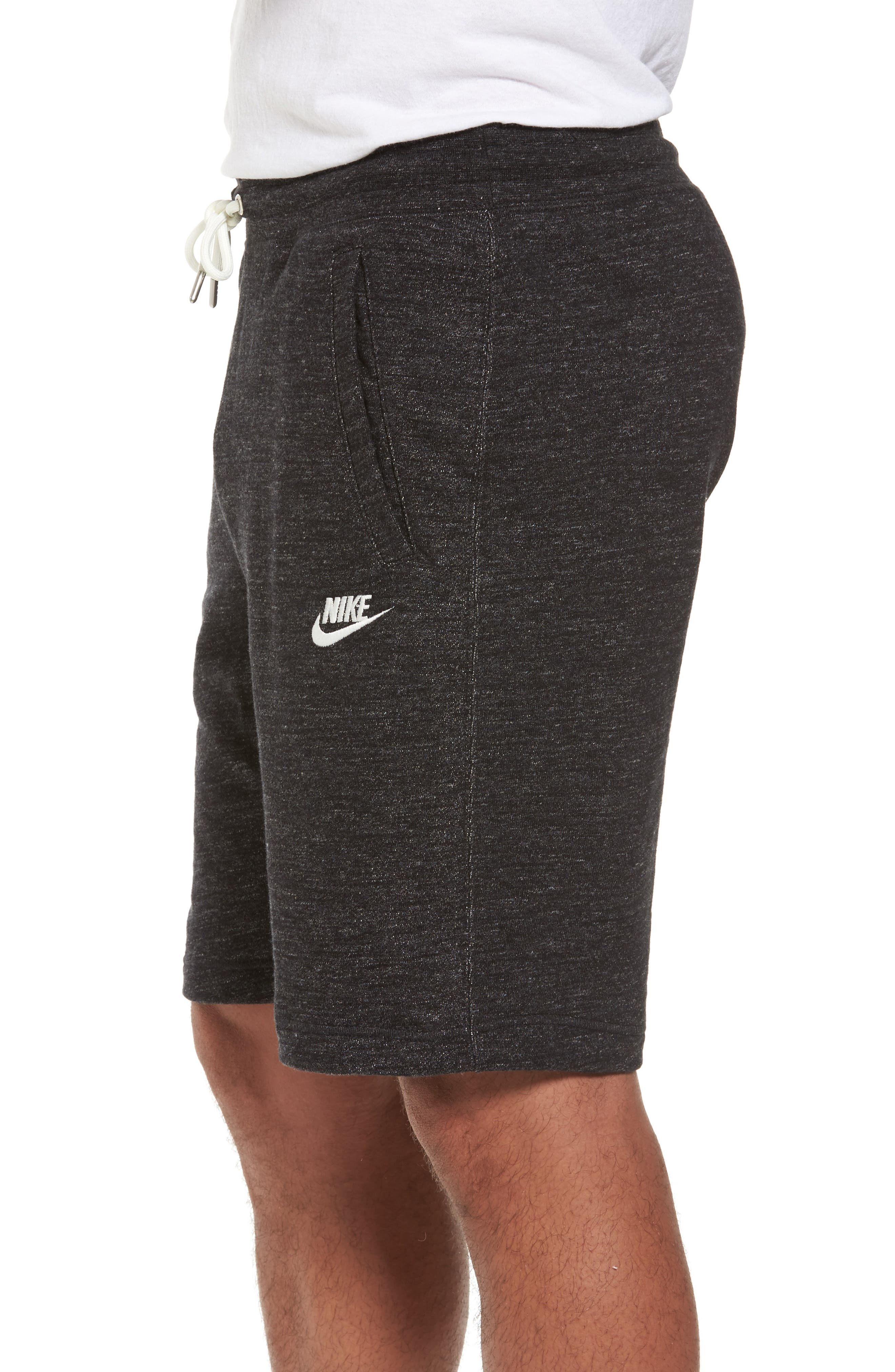 Legacy Knit Shorts,                             Alternate thumbnail 3, color,                             002