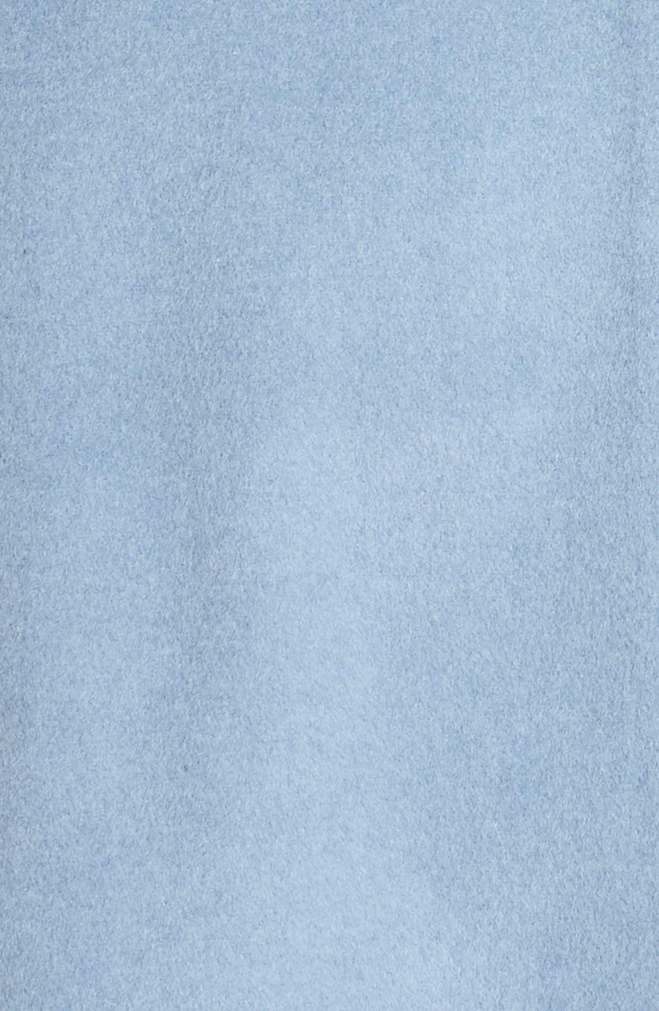 Marla Cutaway Wrap Coat with Oversize Collar,                             Alternate thumbnail 19, color,