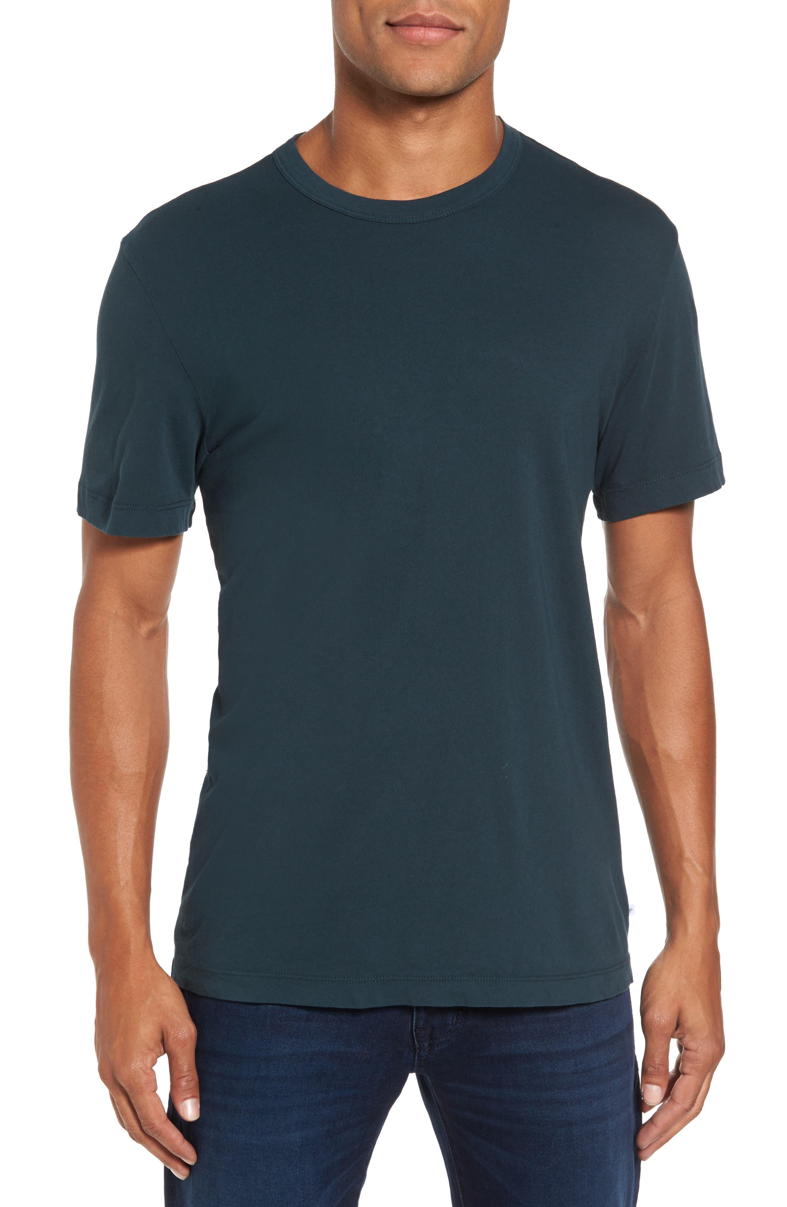 Crewneck Jersey T-Shirt,                             Alternate thumbnail 123, color,