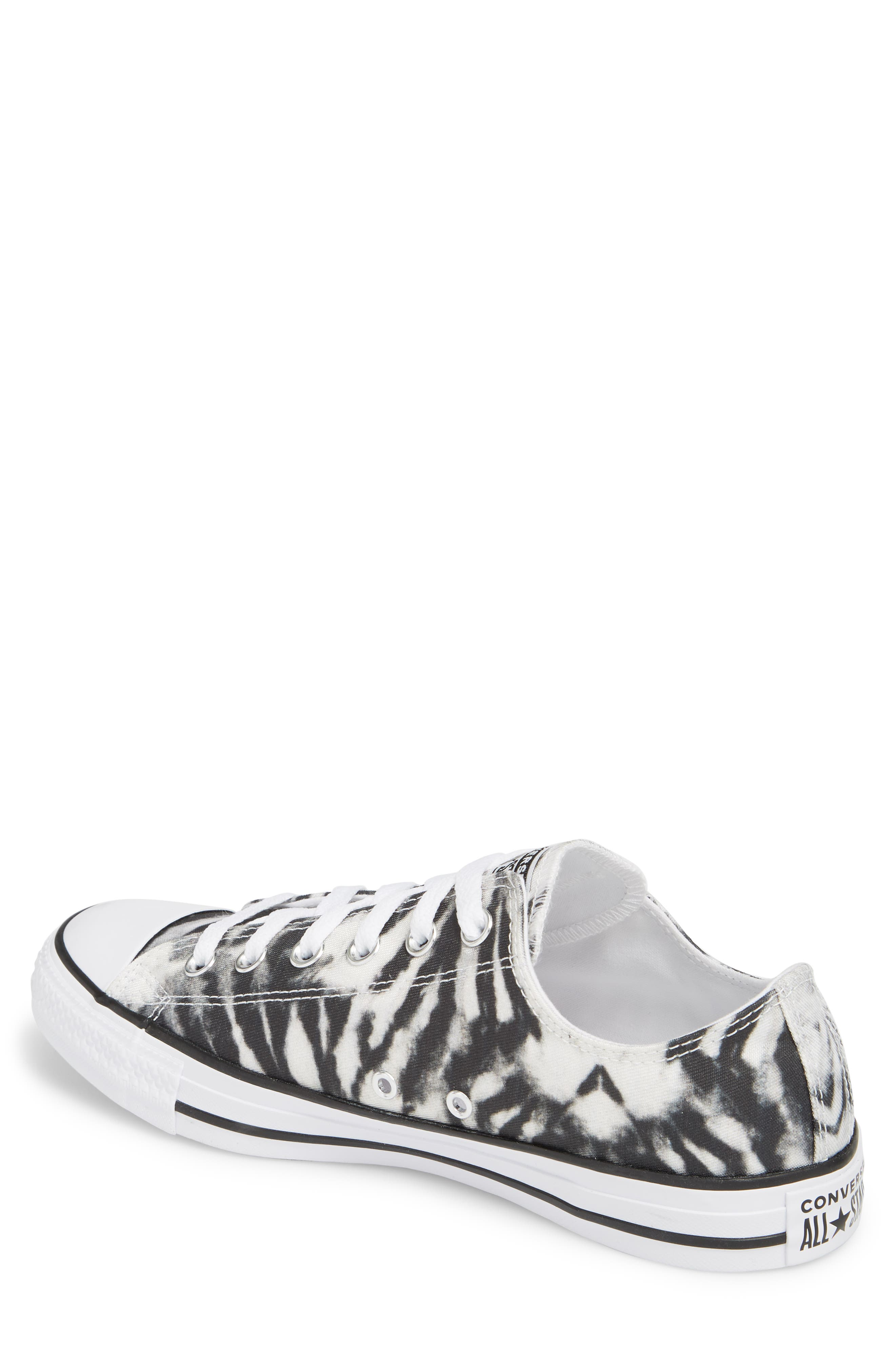 Chuck Taylor<sup>®</sup> All Star<sup>®</sup> Tie Dye Low Top Sneaker,                             Alternate thumbnail 2, color,                             001
