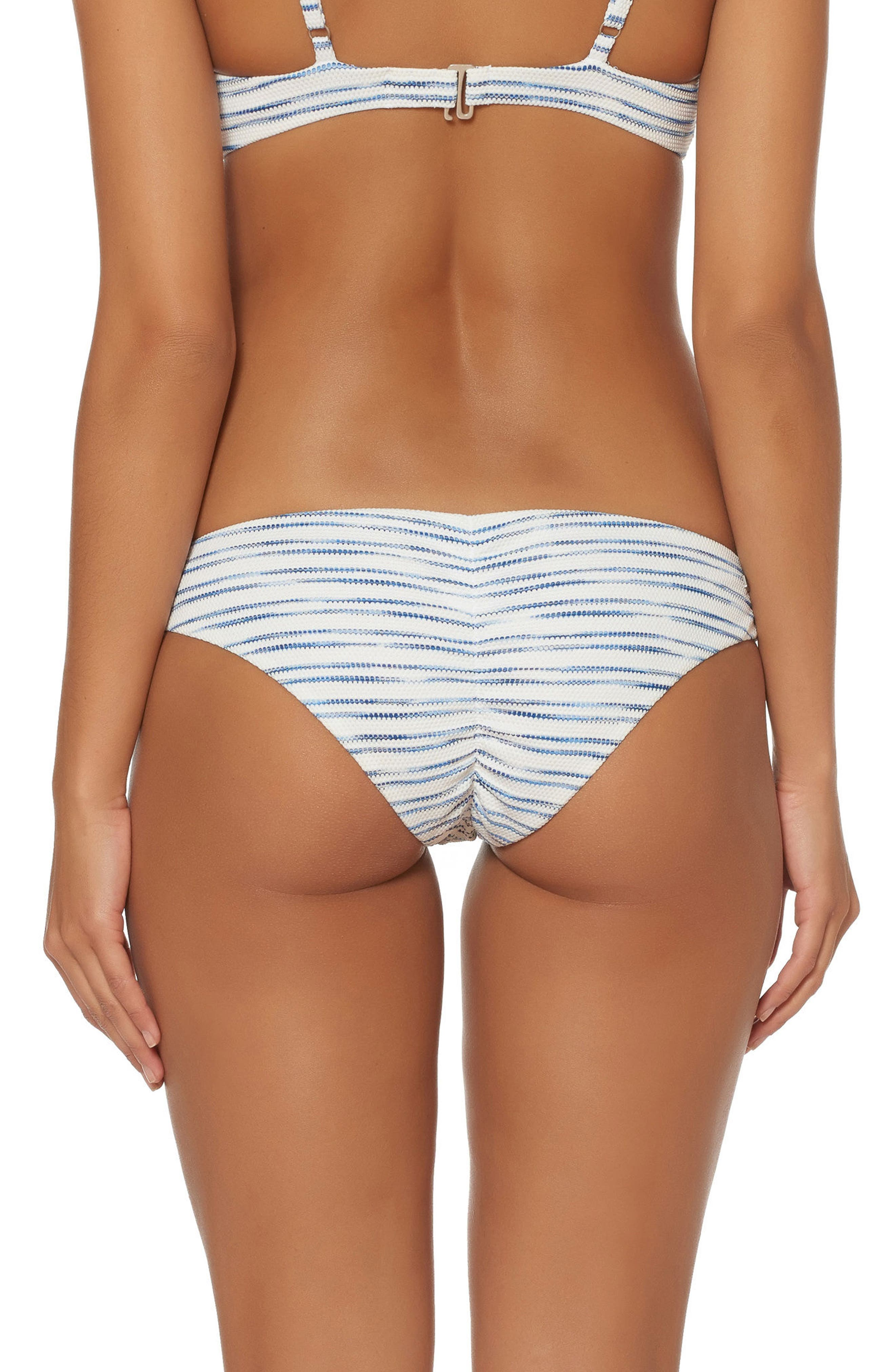Shirred Hipster Bikini Bottoms,                             Alternate thumbnail 2, color,                             168
