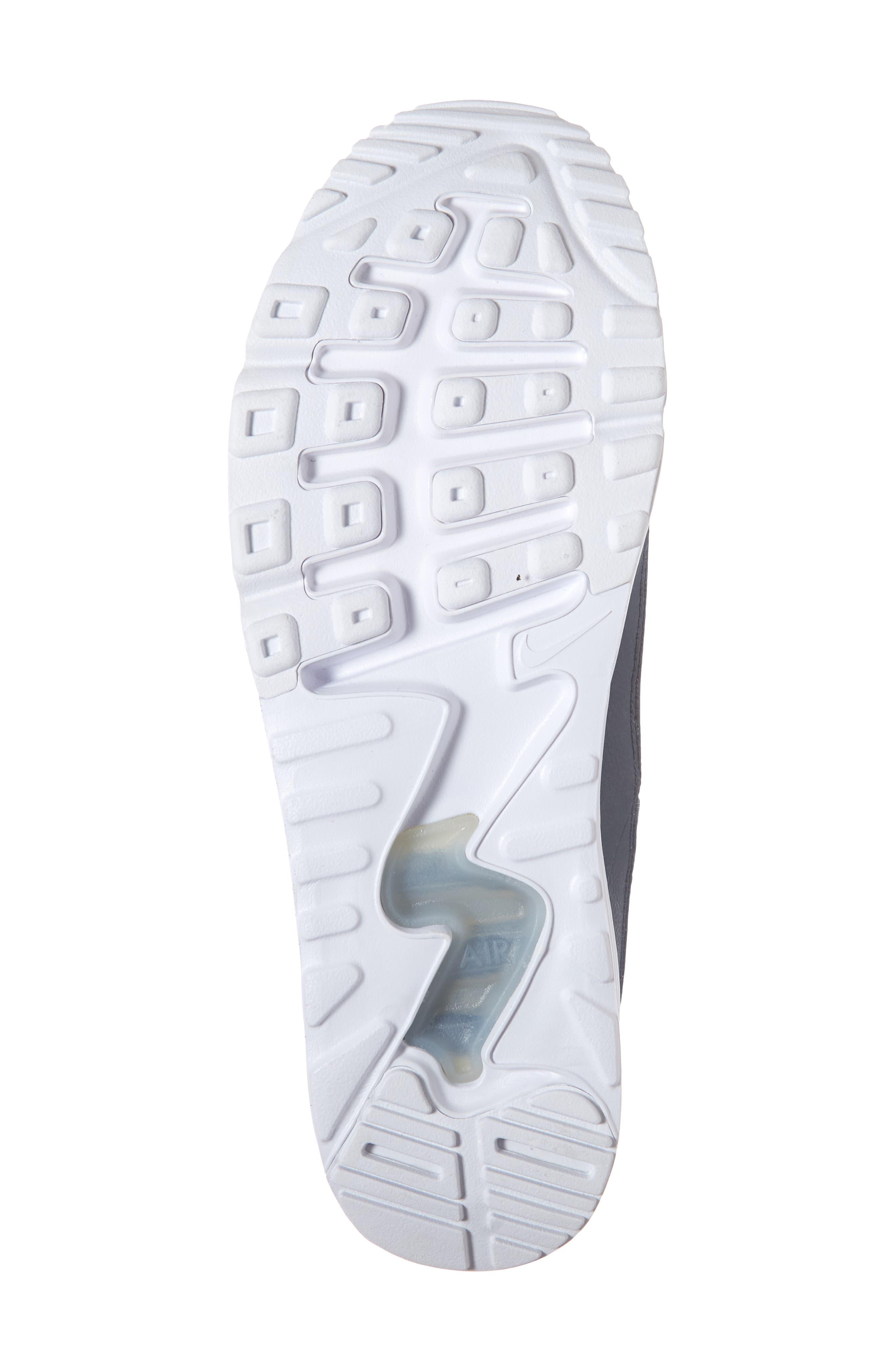 Air Max 90 EZ Sneaker,                             Alternate thumbnail 6, color,                             THUNDER BLUE/ WHITE