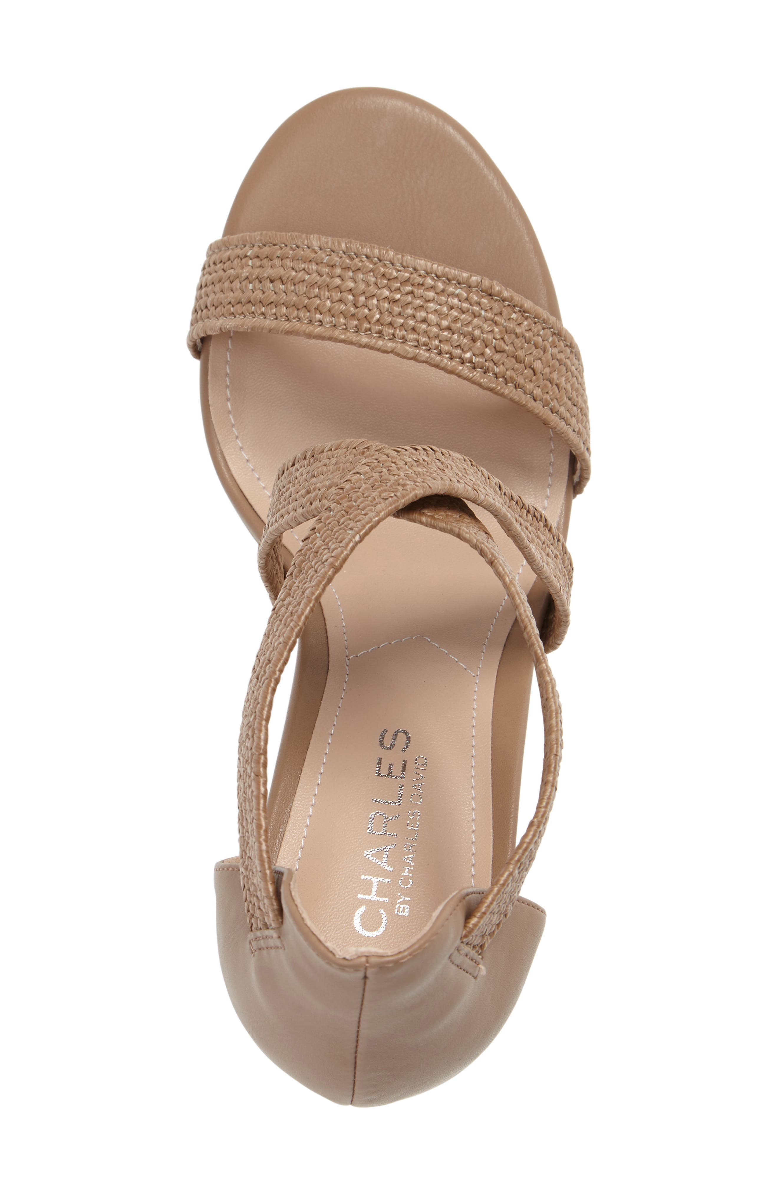 Emily Strappy Sandal,                             Alternate thumbnail 6, color,