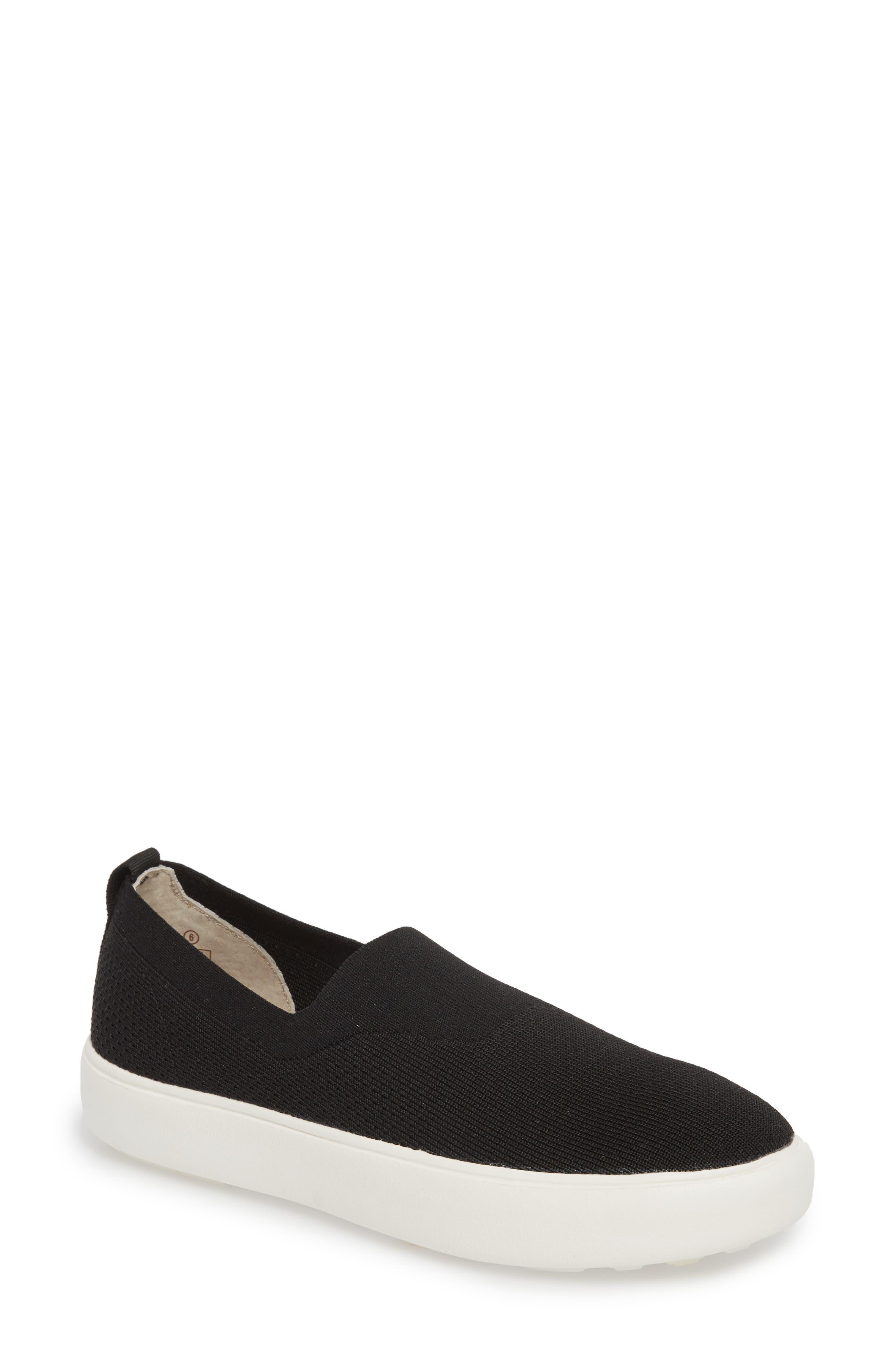 Hula Slip-On Sneaker,                             Main thumbnail 1, color,                             BLACK