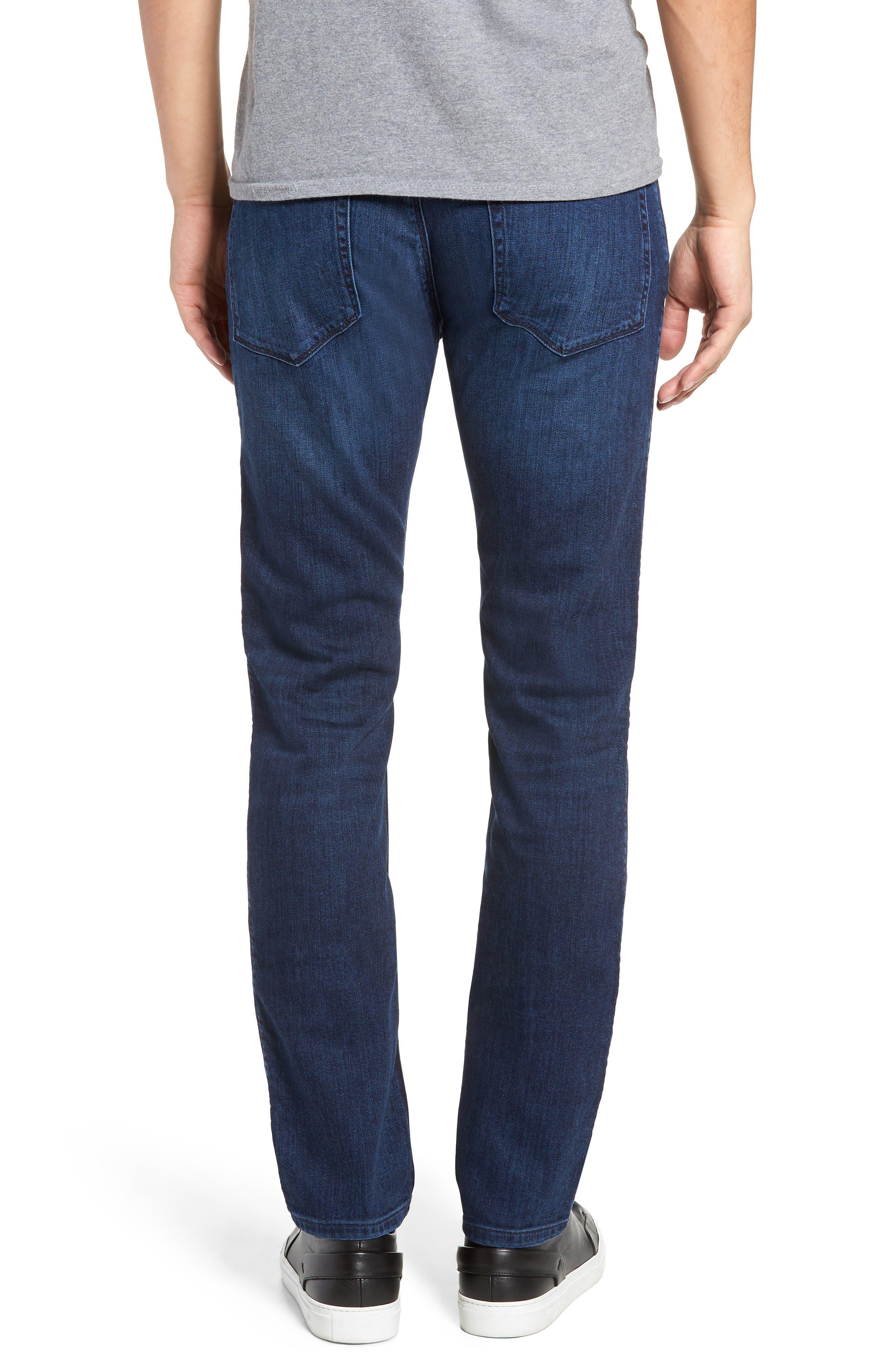 708 Stretch Slim Fit Jeans,                             Alternate thumbnail 2, color,                             BLUE