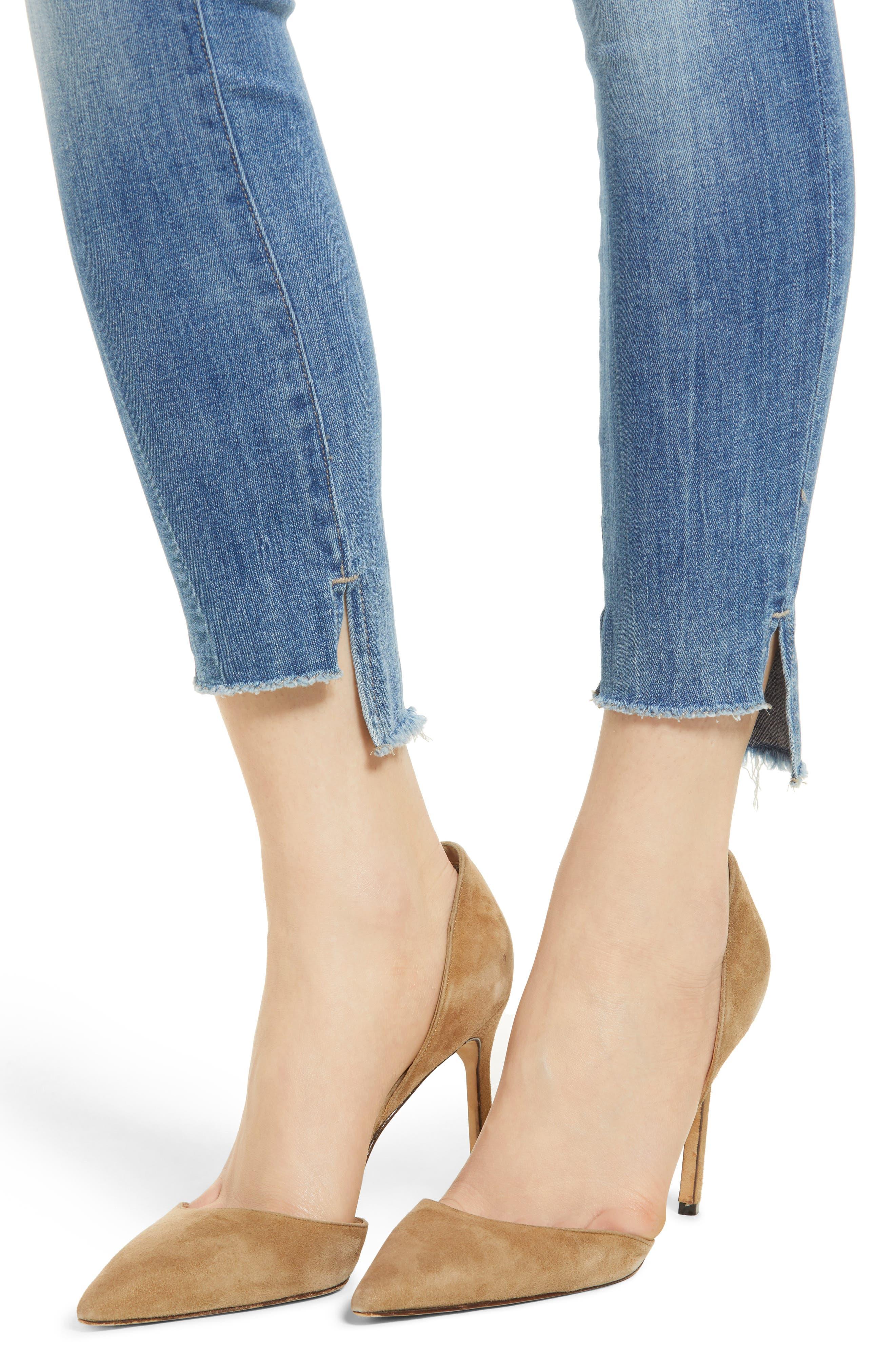Emma Power Legging Skinny Jeans,                             Alternate thumbnail 4, color,                             MELBOURNE