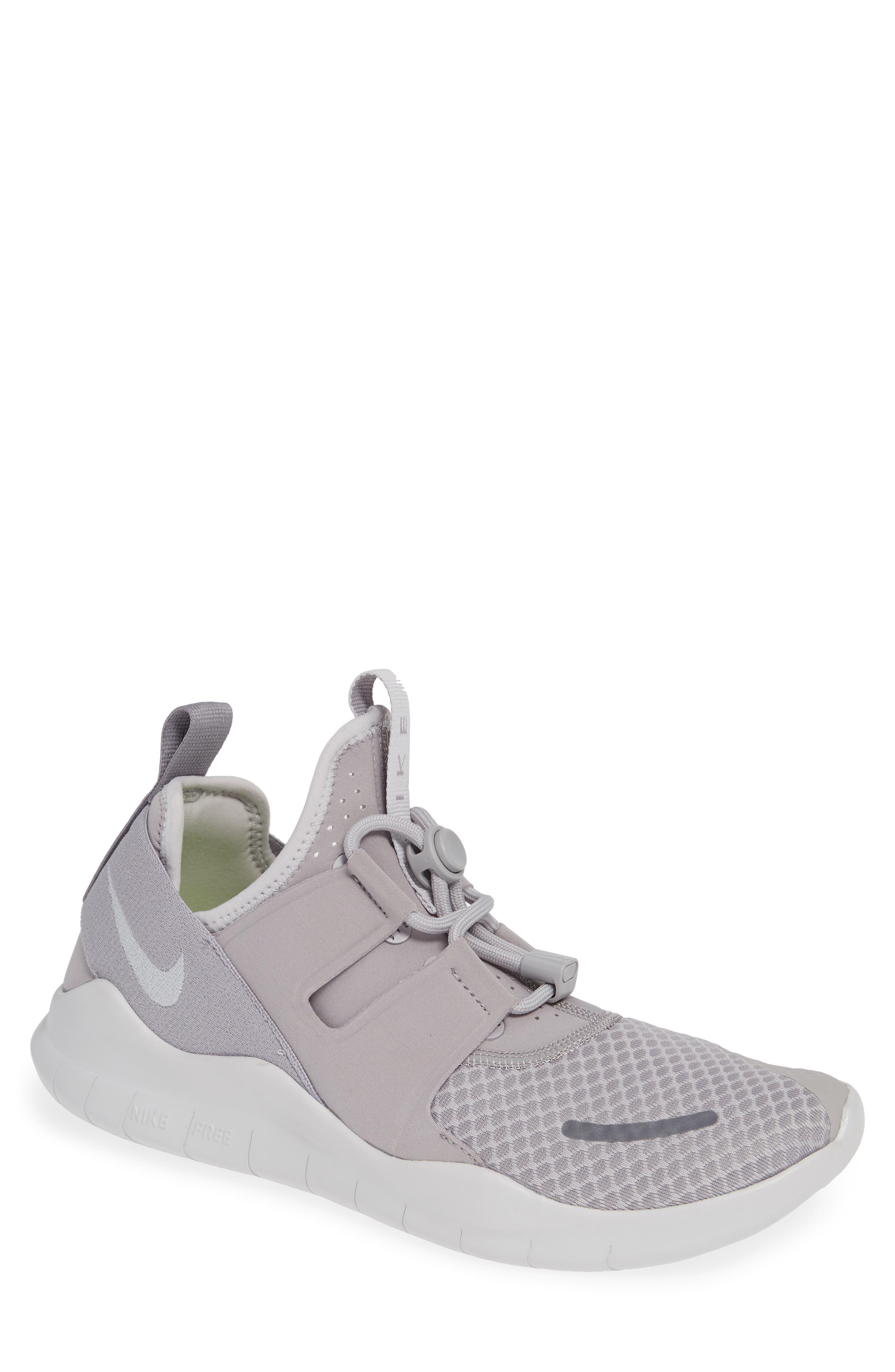Free RN Commuter 2018 Running Shoe,                         Main,                         color, ATMOSPHERE GREY/ VAST GREY