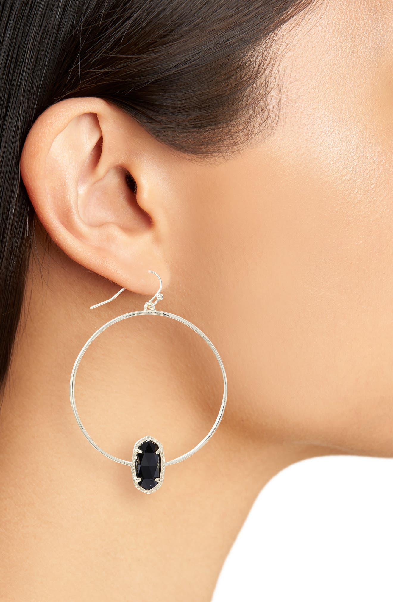 Elora Frontal Hoop Earrings,                             Alternate thumbnail 20, color,