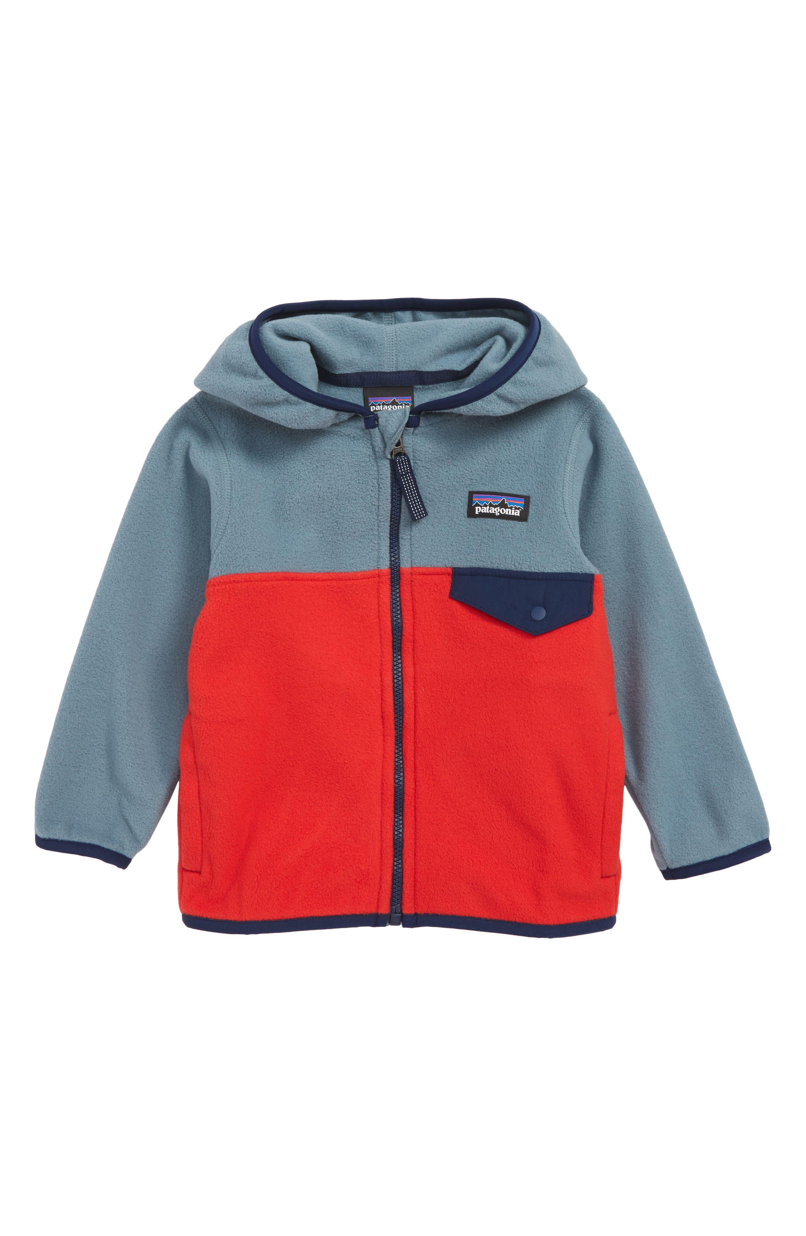 Micro D<sup>®</sup> Snap-T<sup>®</sup> Fleece Jacket,                             Main thumbnail 1, color,                             FRE