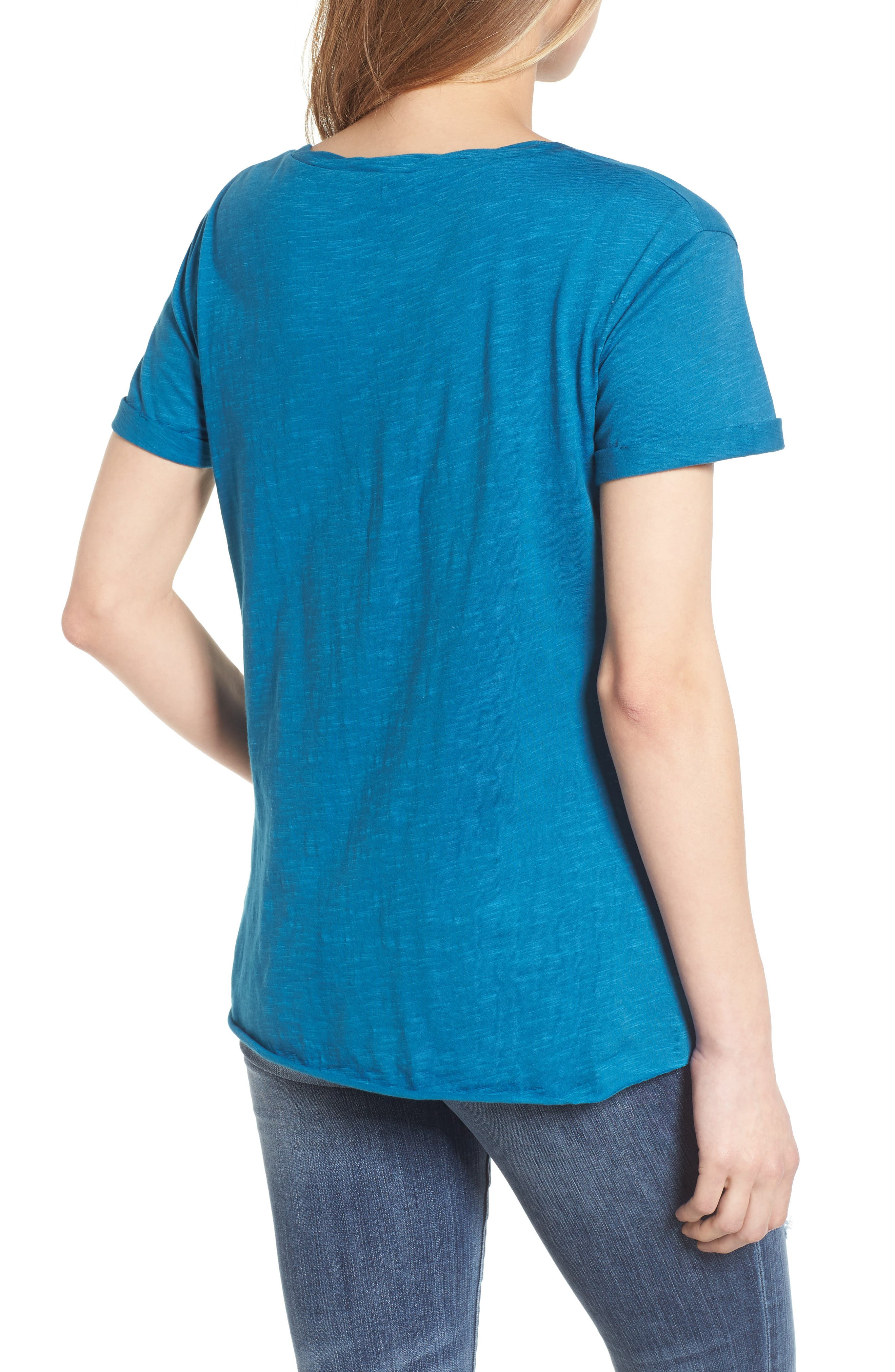 Knotted Tee,                             Alternate thumbnail 13, color,