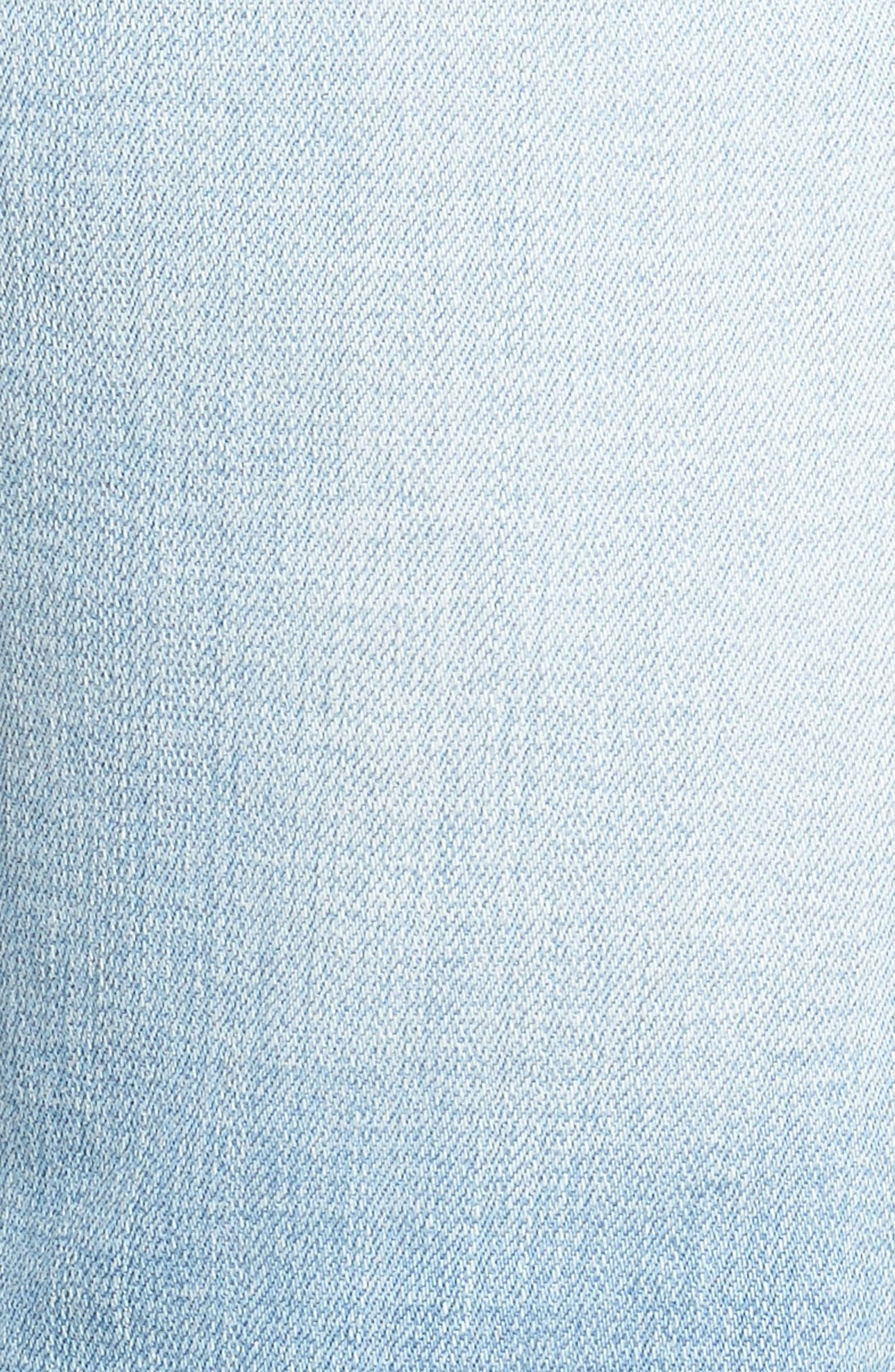 Jeans Co. Straight Leg Jeans,                             Alternate thumbnail 5, color,                             RIVERSIDE LIGHT