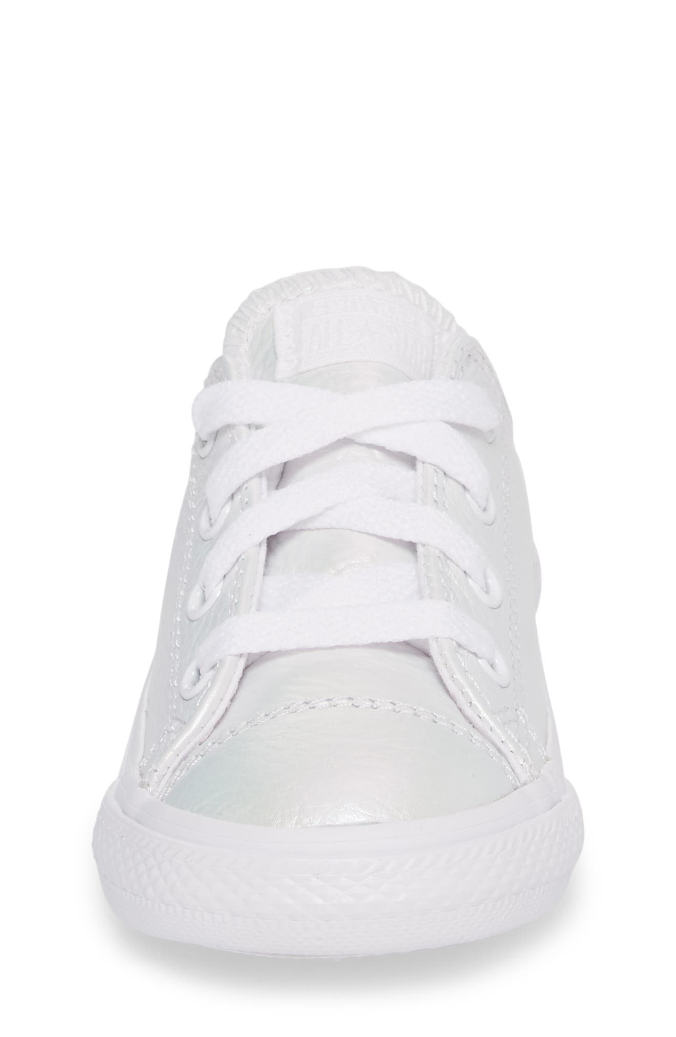 Chuck Taylor<sup>®</sup> All Star<sup>®</sup> Iridescent Sneaker,                             Alternate thumbnail 4, color,                             100