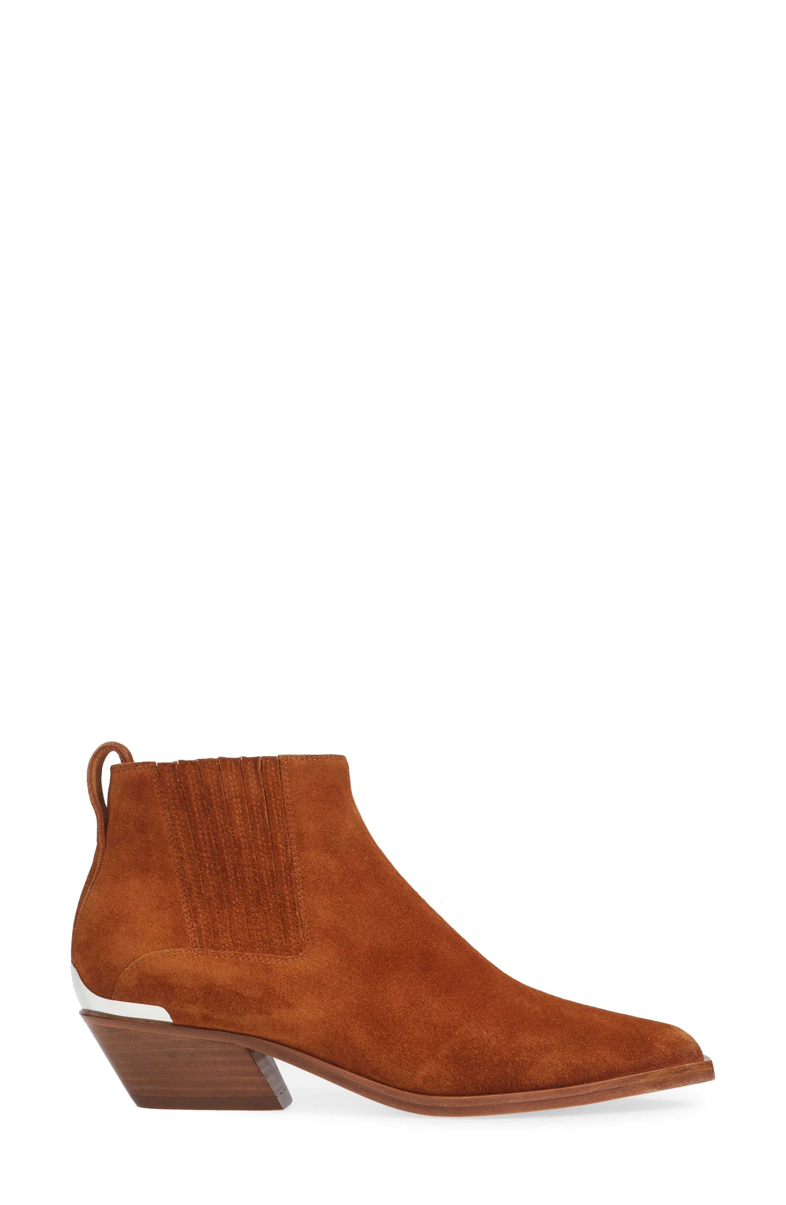 Westin Bootie,                             Alternate thumbnail 3, color,                             TAN SUEDE