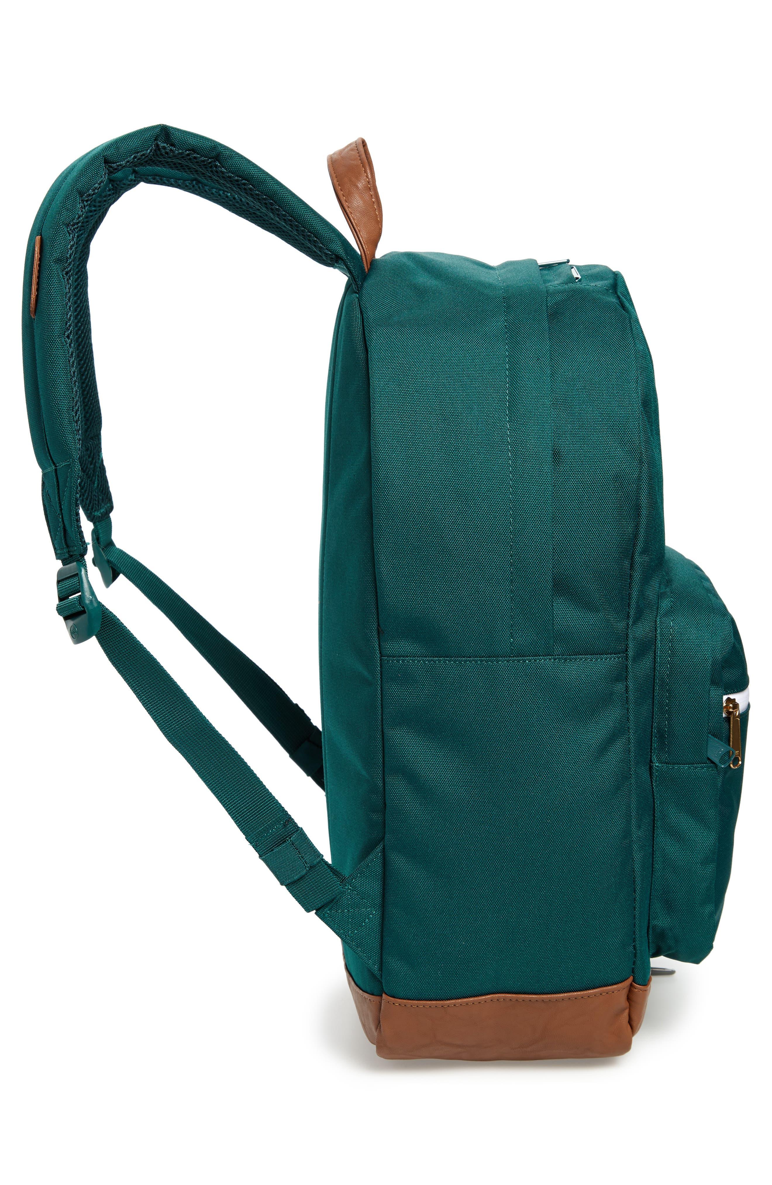 Pop Quiz Backpack,                             Alternate thumbnail 5, color,                             DEEP TEAL/ TAN