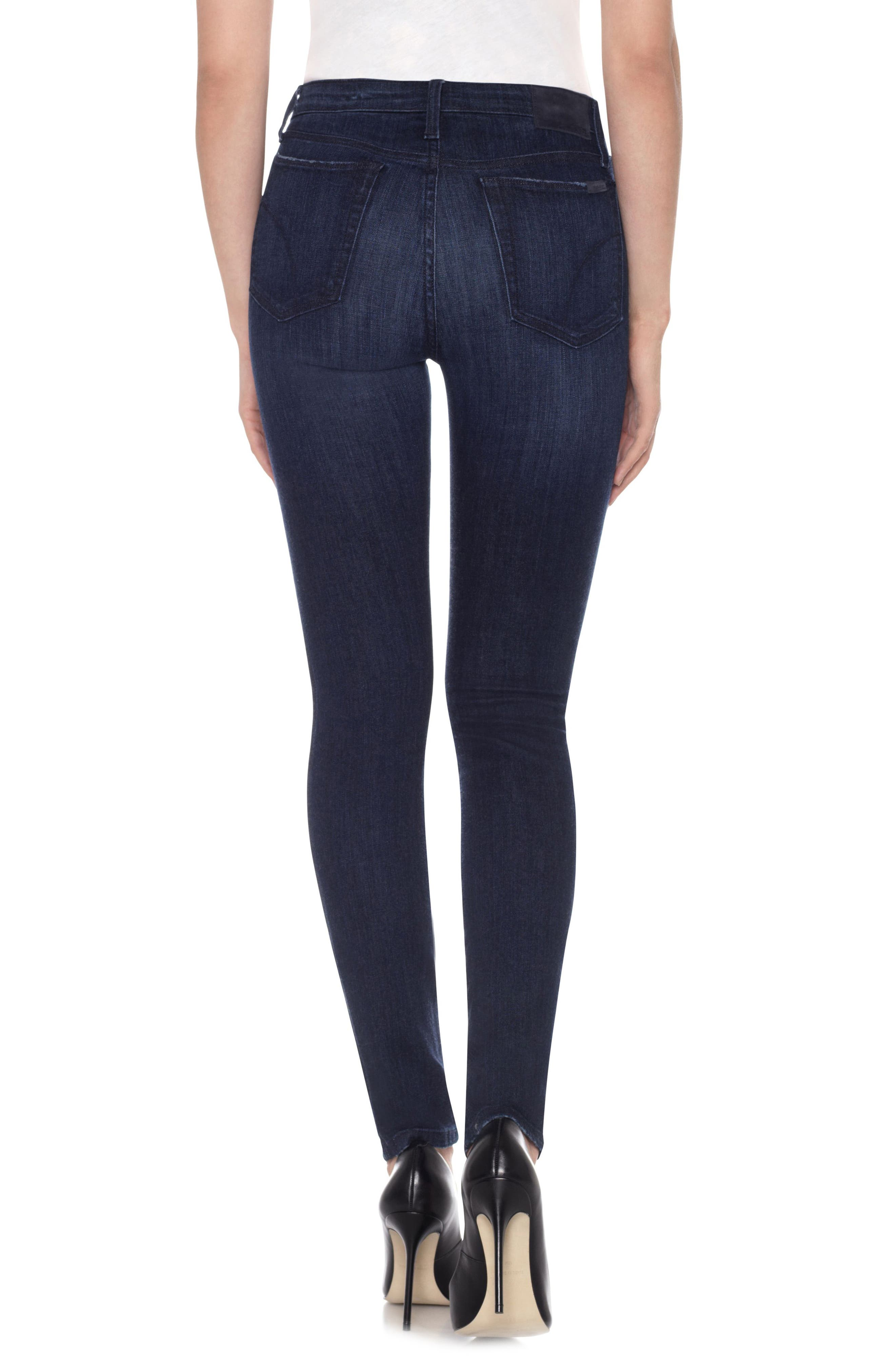 Flawless - Charlie High Waist Skinny Jeans,                             Alternate thumbnail 2, color,                             400