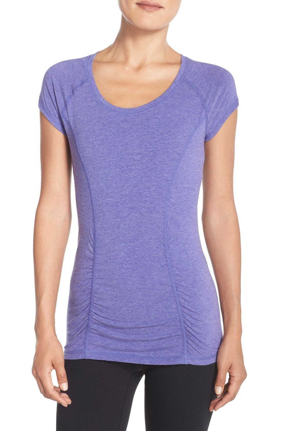 'Z 6' Ruched Tee,                             Main thumbnail 12, color,
