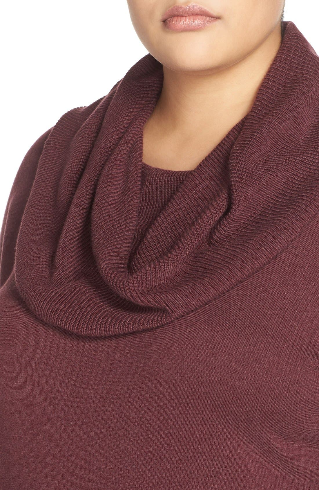 Cowl Neck Tunic Sweater,                             Alternate thumbnail 36, color,