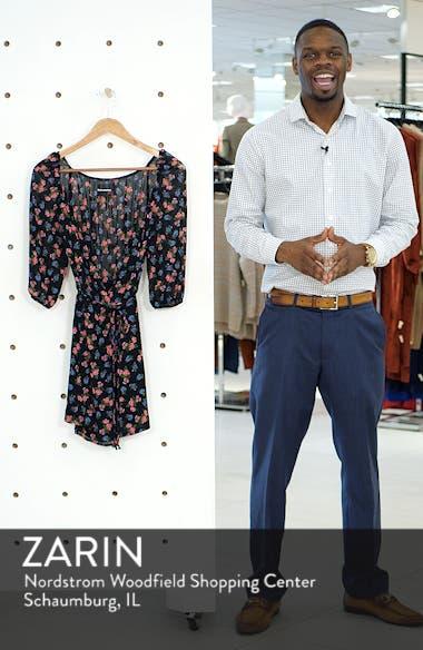 Eveleigh Wrap Minidress, sales video thumbnail