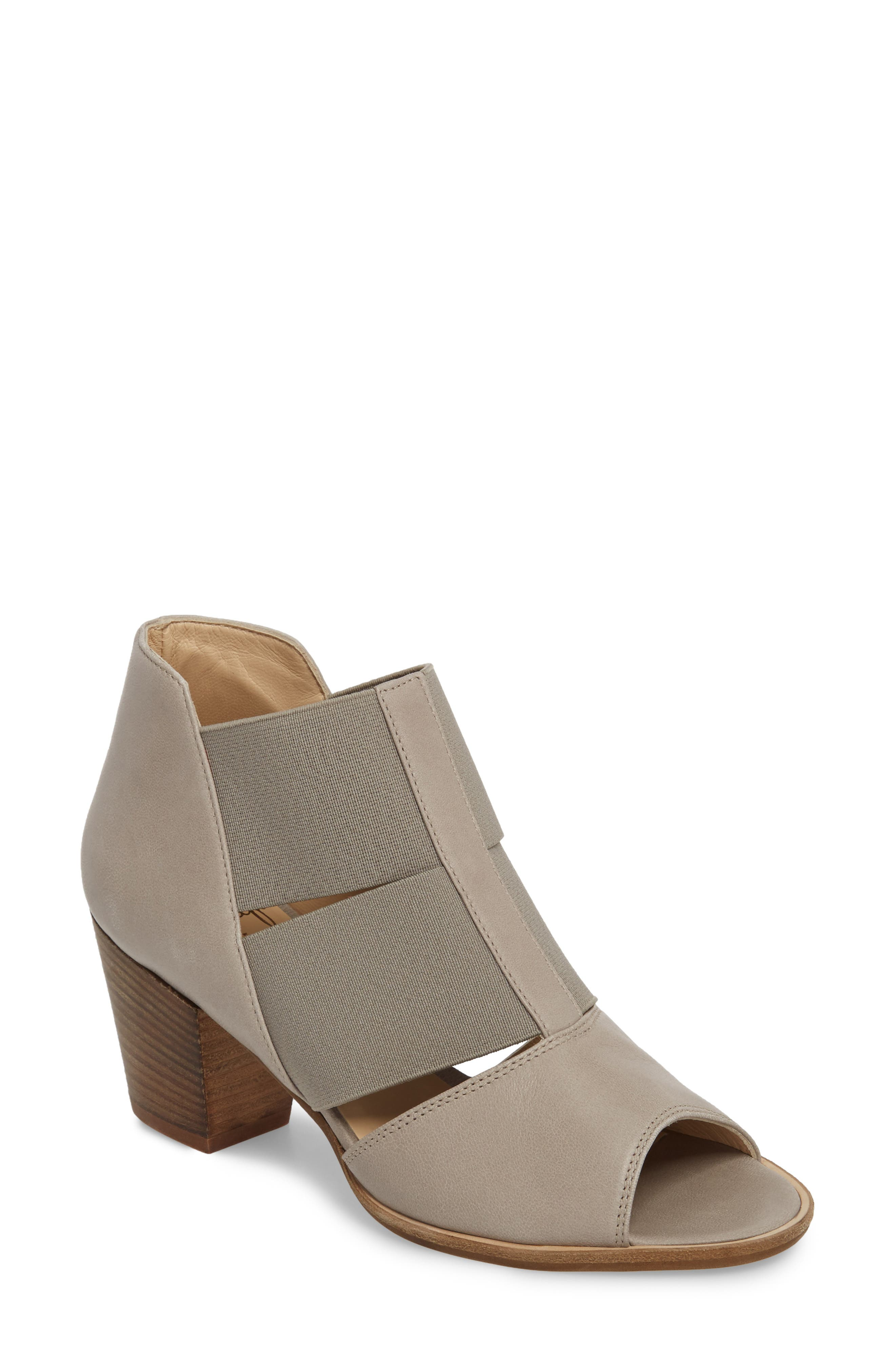 Cestello Bootie,                             Main thumbnail 1, color,                             PEARL LEATHER