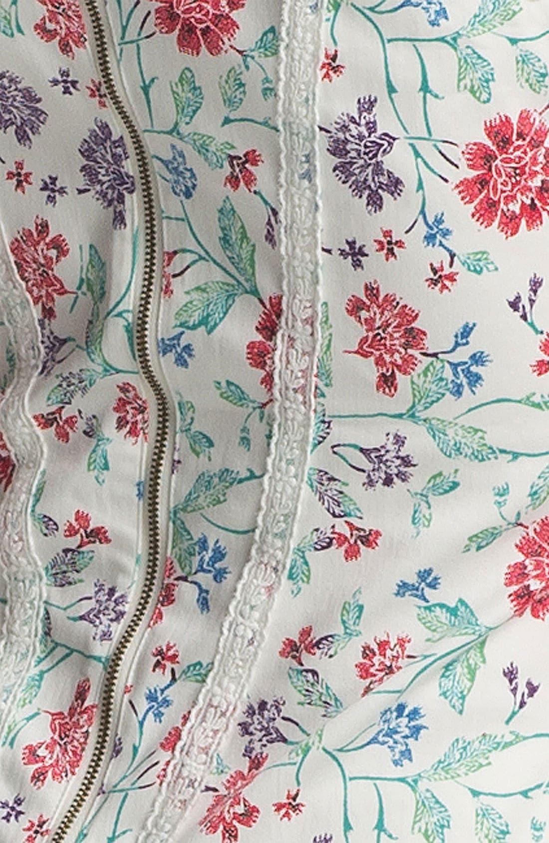 'Miss Lizzy' Floral Corset Camisole,                             Alternate thumbnail 3, color,                             900
