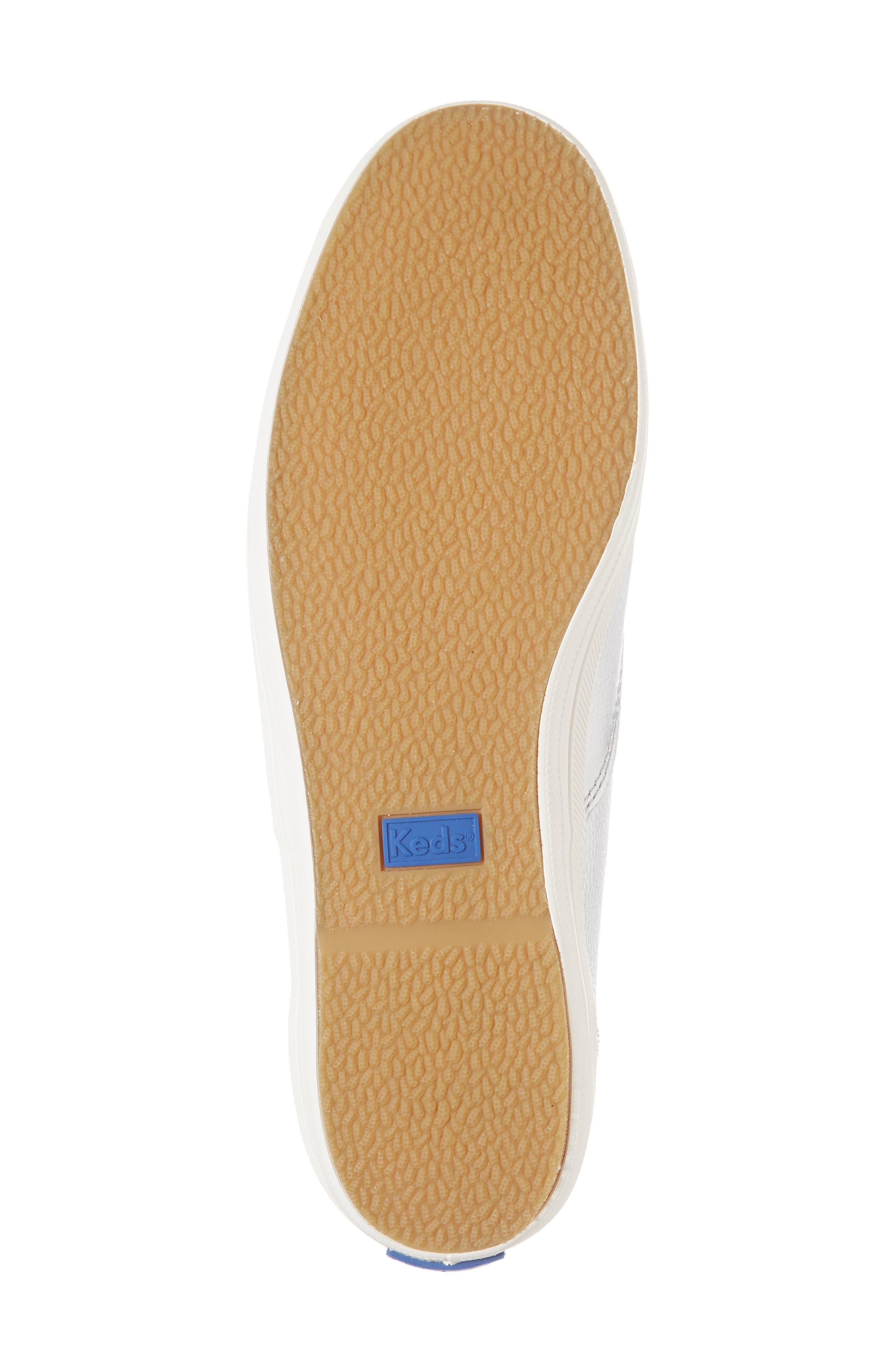 metallic sneaker,                             Alternate thumbnail 6, color,                             040