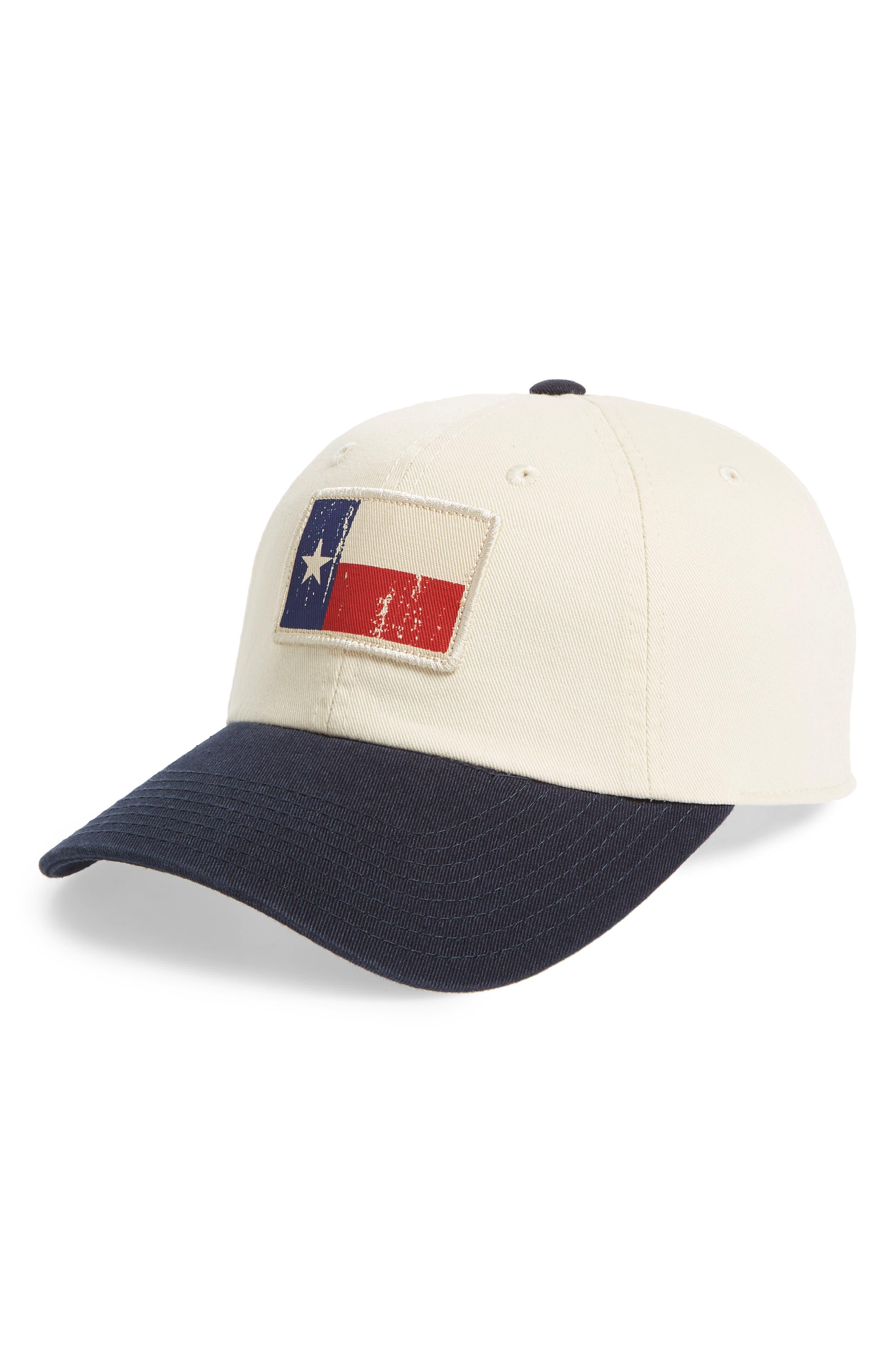 AMERICAN NEEDLE Badger Slouch - Texas Baseball Cap, Main, color, 900