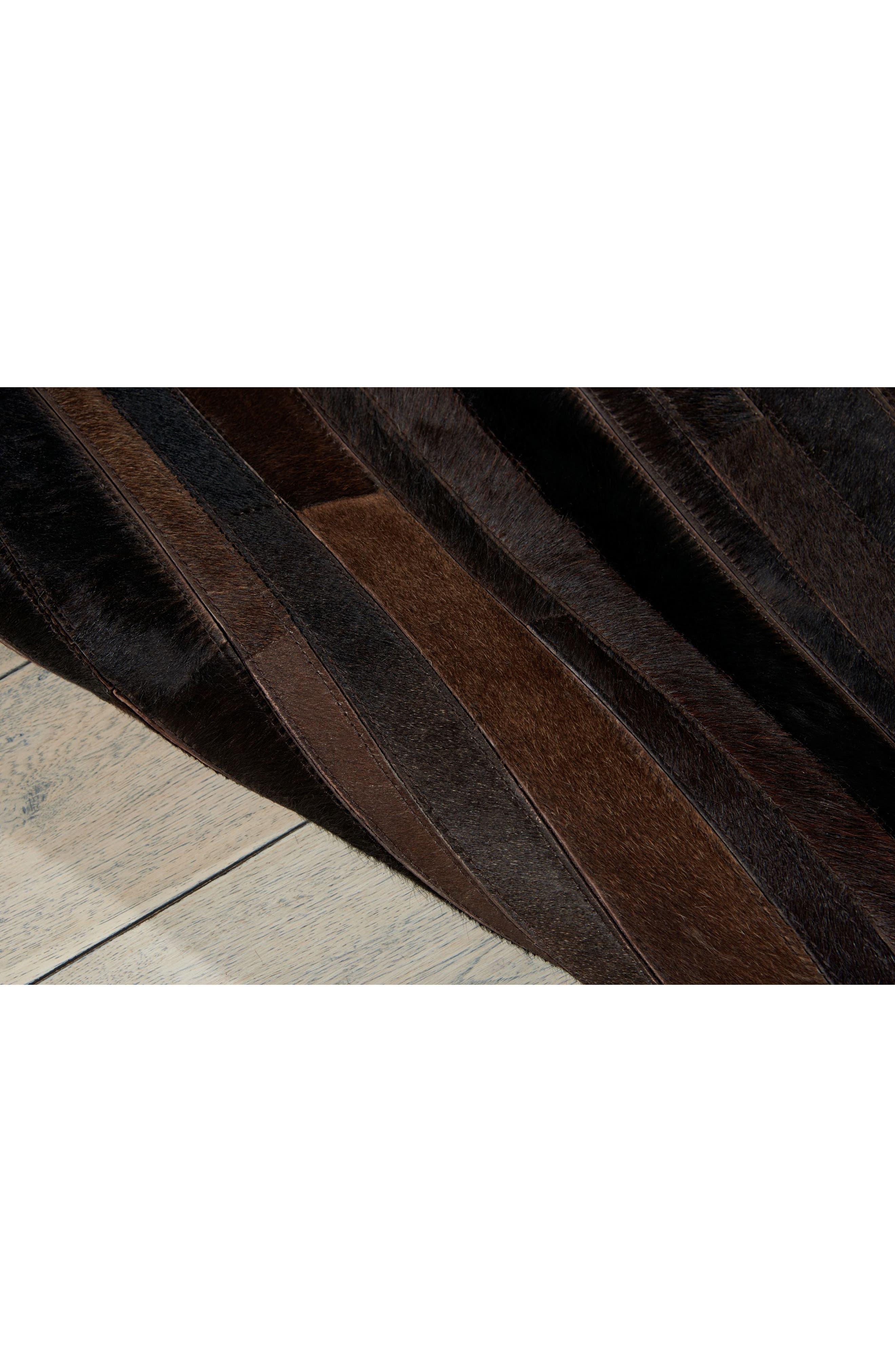 Home Prairie Genuine Calf Hair Area Rug,                             Alternate thumbnail 23, color,